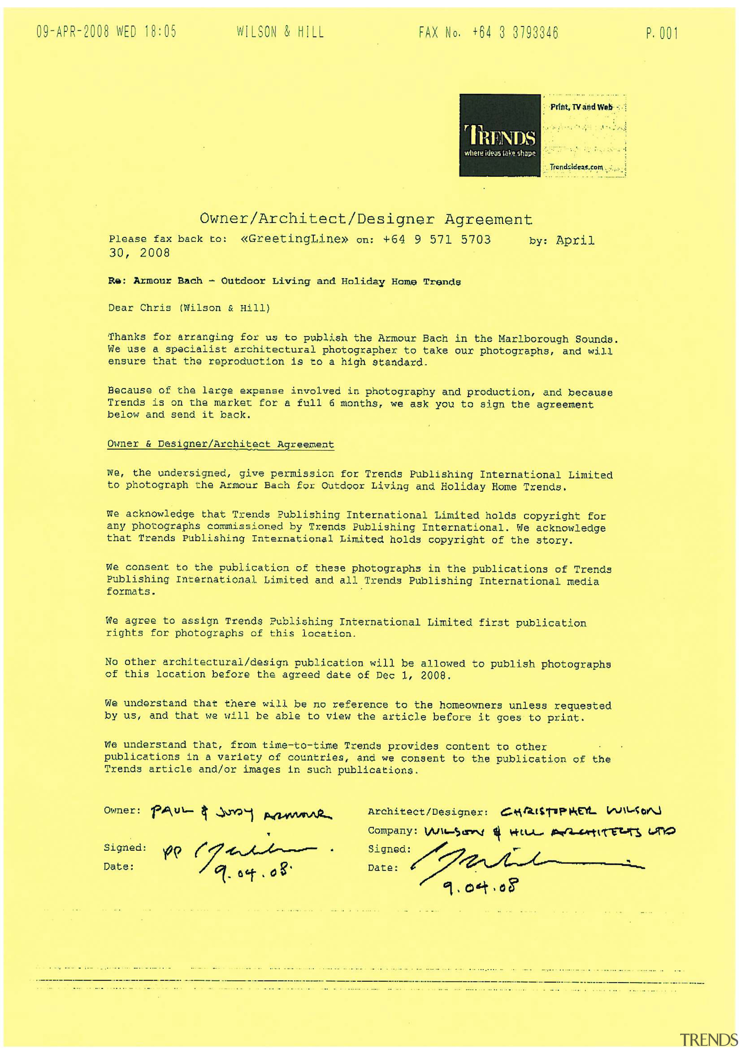 Owner/architect agreement. - Owner/architect agreement. - area   area, document, font, line, paper, text, yellow, yellow