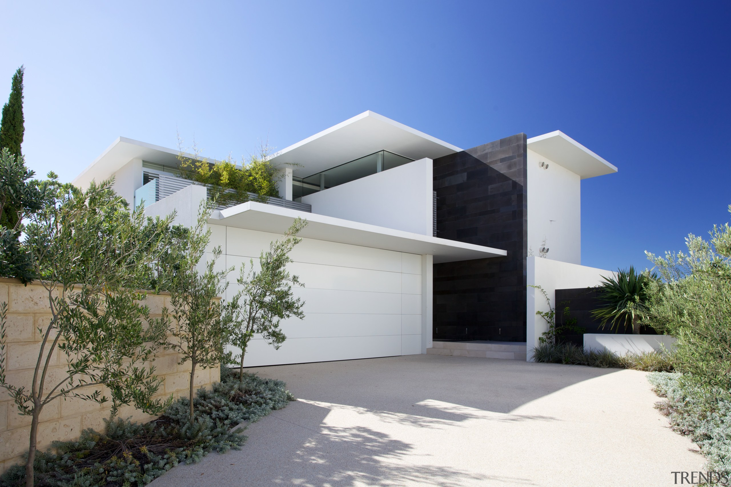 Architect Gary Banham has spent a lifetime designing architecture, building, elevation, estate, facade, home, house, property, real estate, residential area, blue