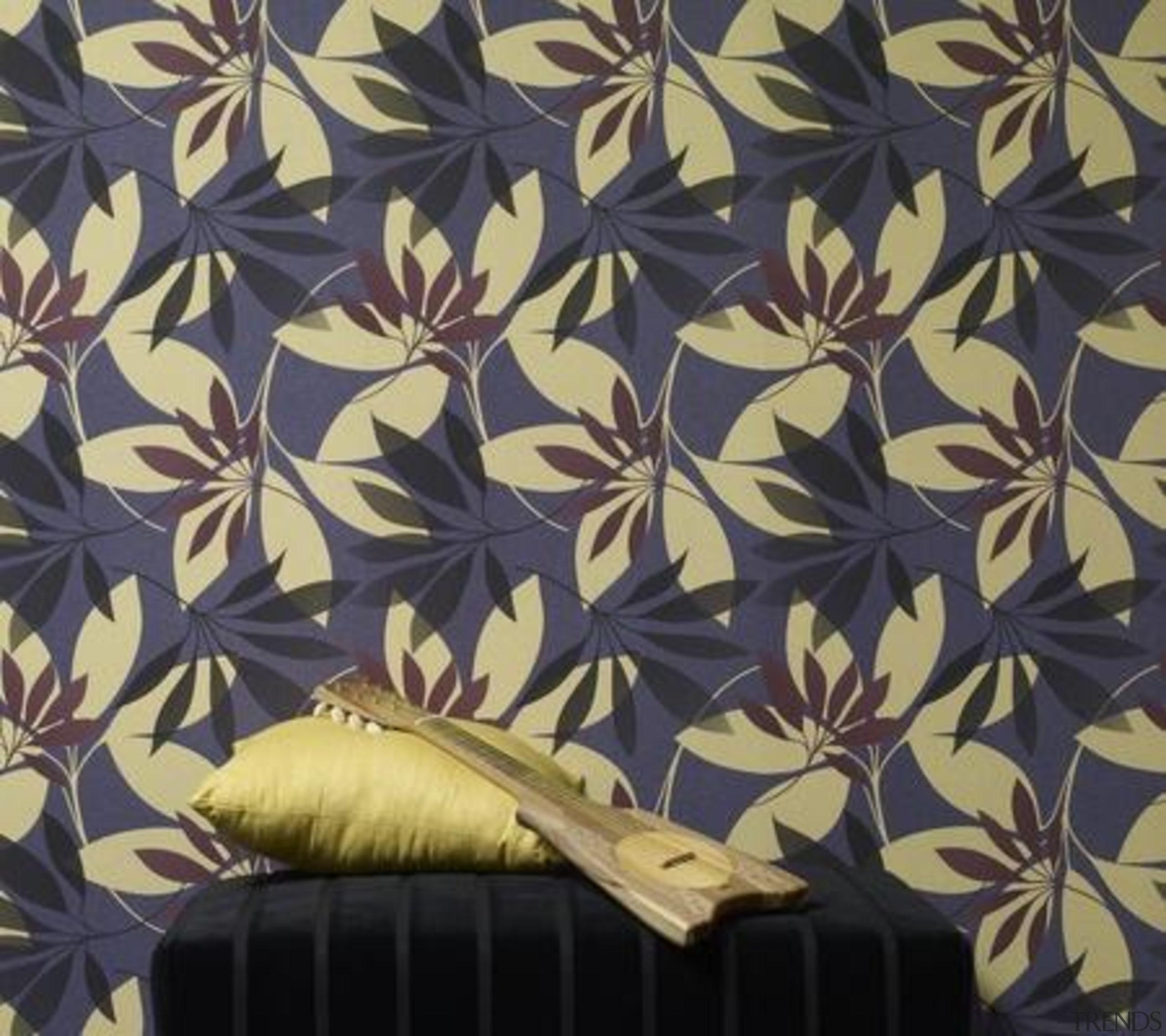Stylised Florals - design   pattern   wallpaper design, pattern, wallpaper, black
