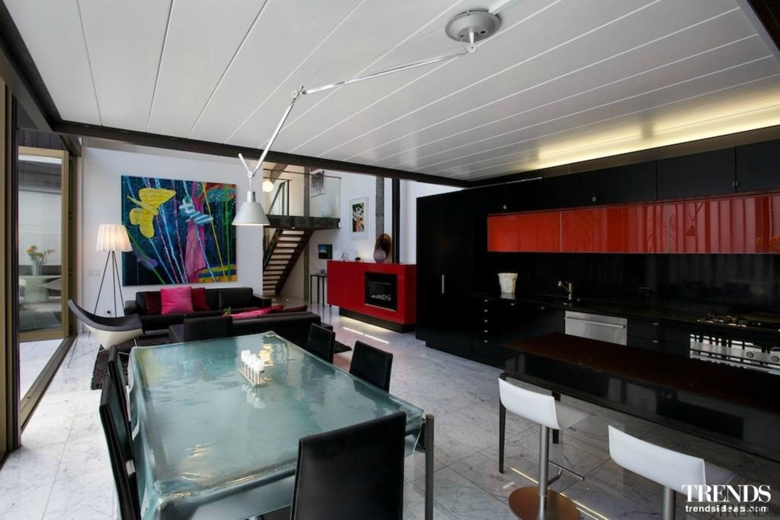 Shortlisted Entry Leuschke Group - interior design | interior design, lobby, loft, property, real estate, gray, black