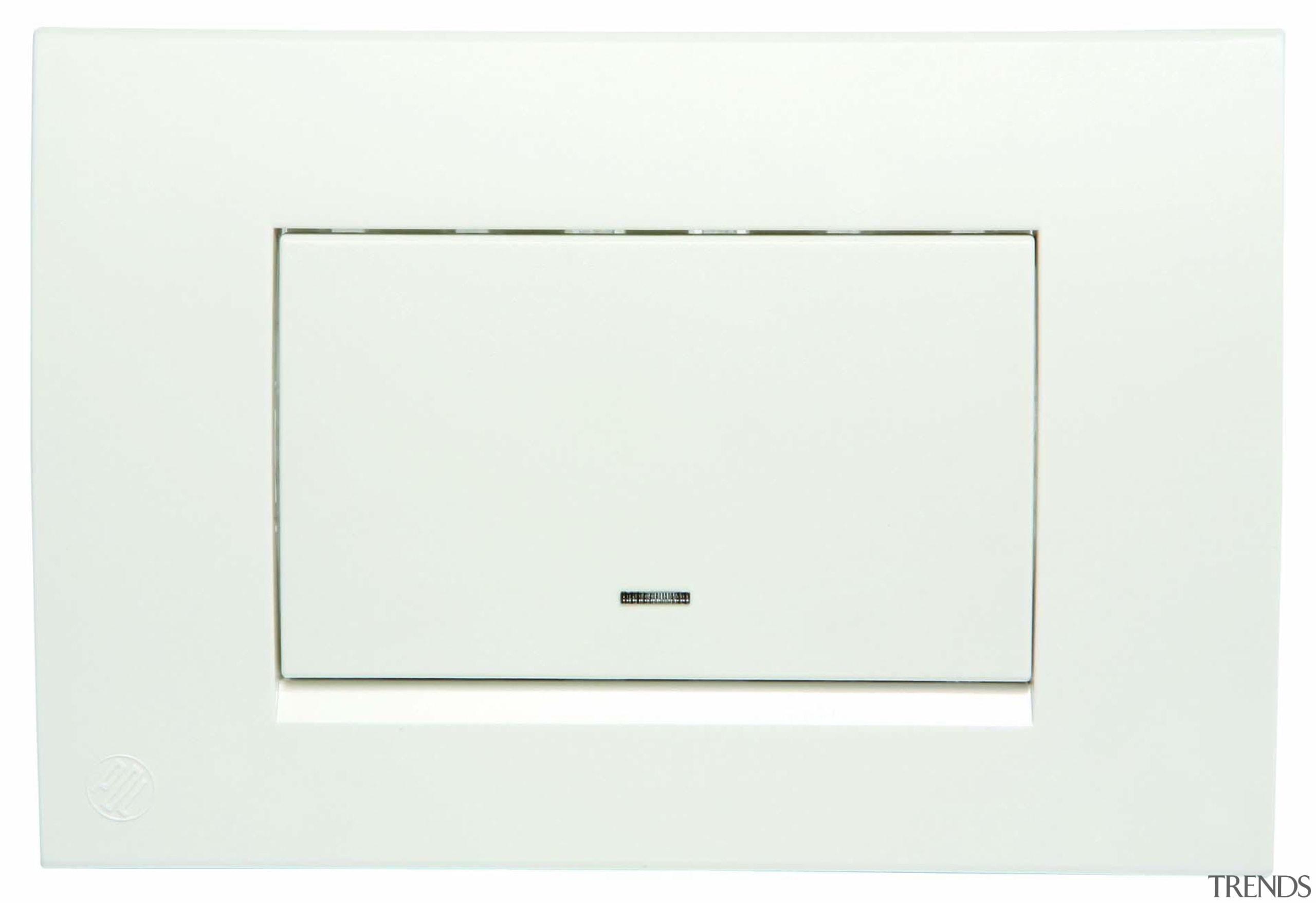 Modena single horizontal switch - White - Modena white