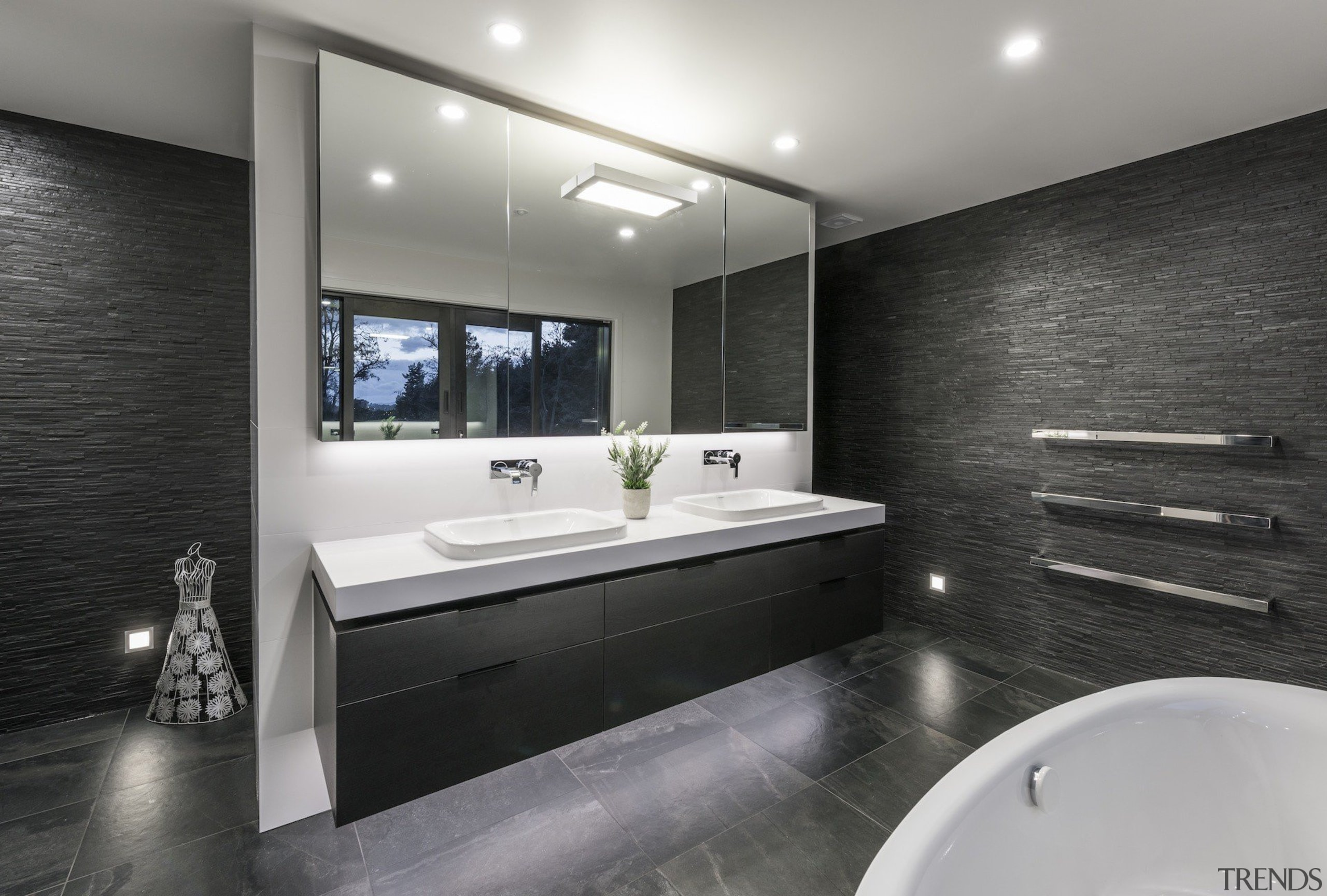 See more from Detail by Davinia Sutton architecture, bathroom, interior design, room, gray, black
