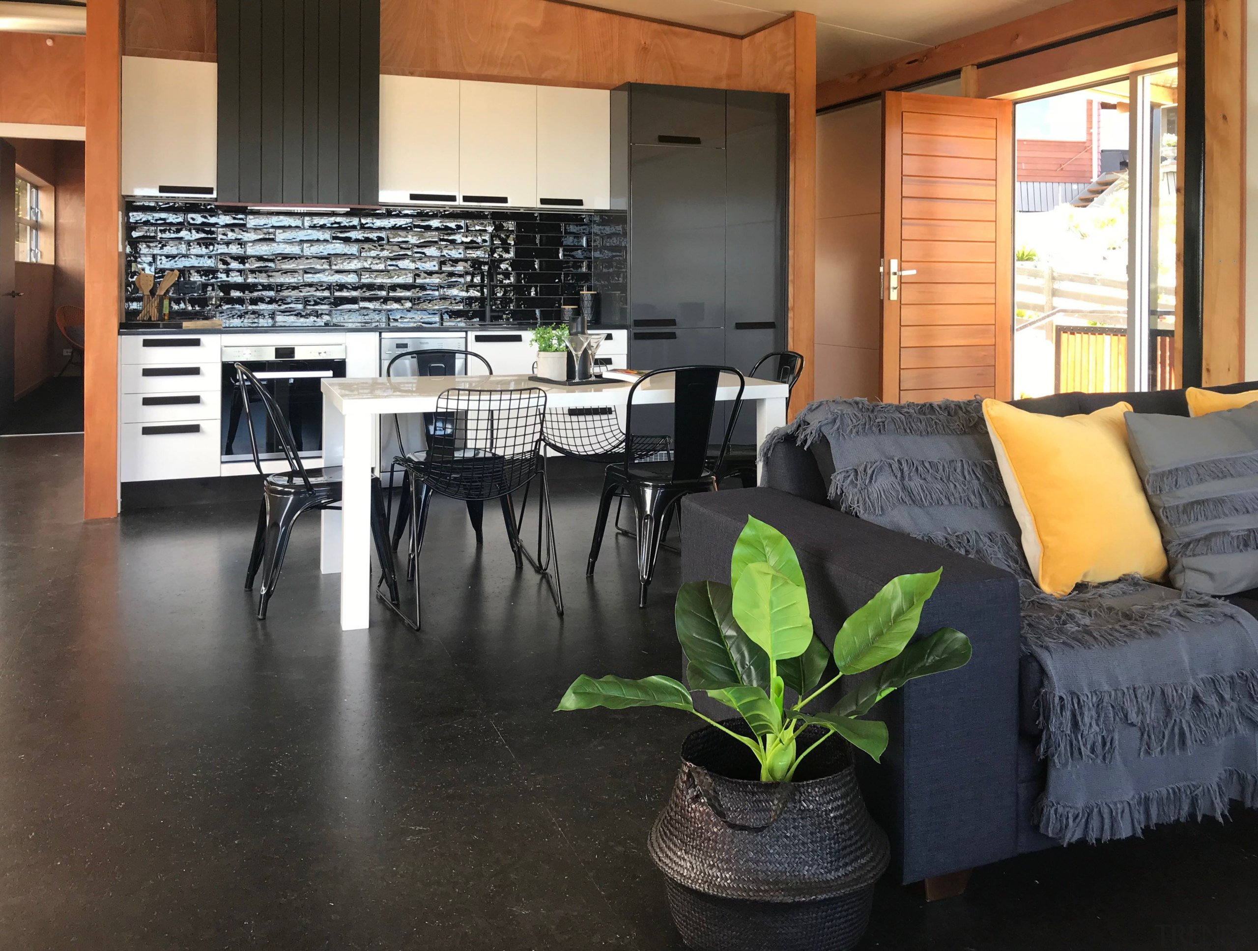 Its not really what the owner thinks, its floor, flooring, interior design, living room, property, real estate, black