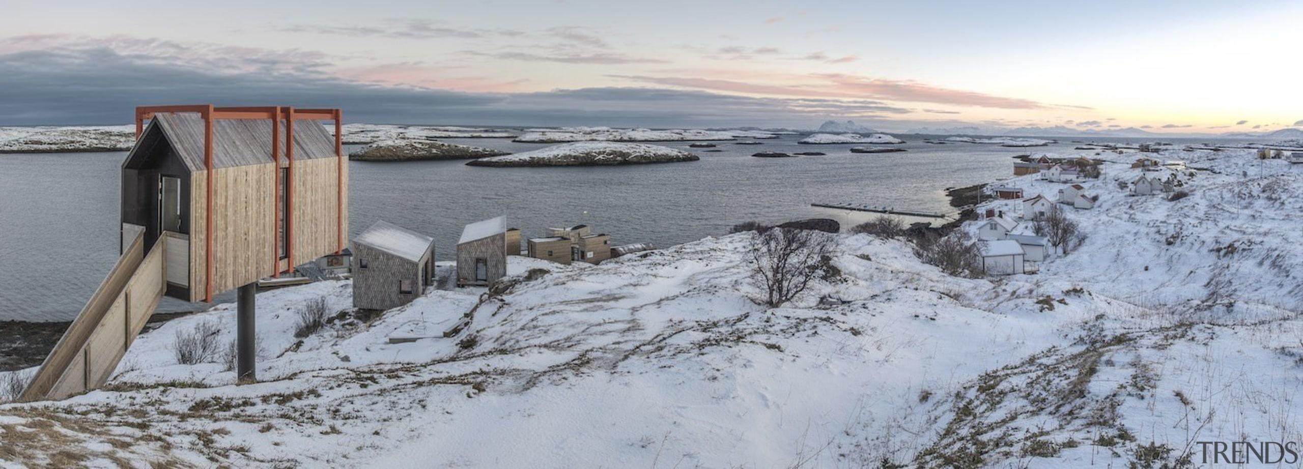 Architect: TYIN tegnestue ArchitectsPhotographer: Pasi Aalto / arctic, freezing, geological phenomenon, ice, sky, snow, winter, wood, gray