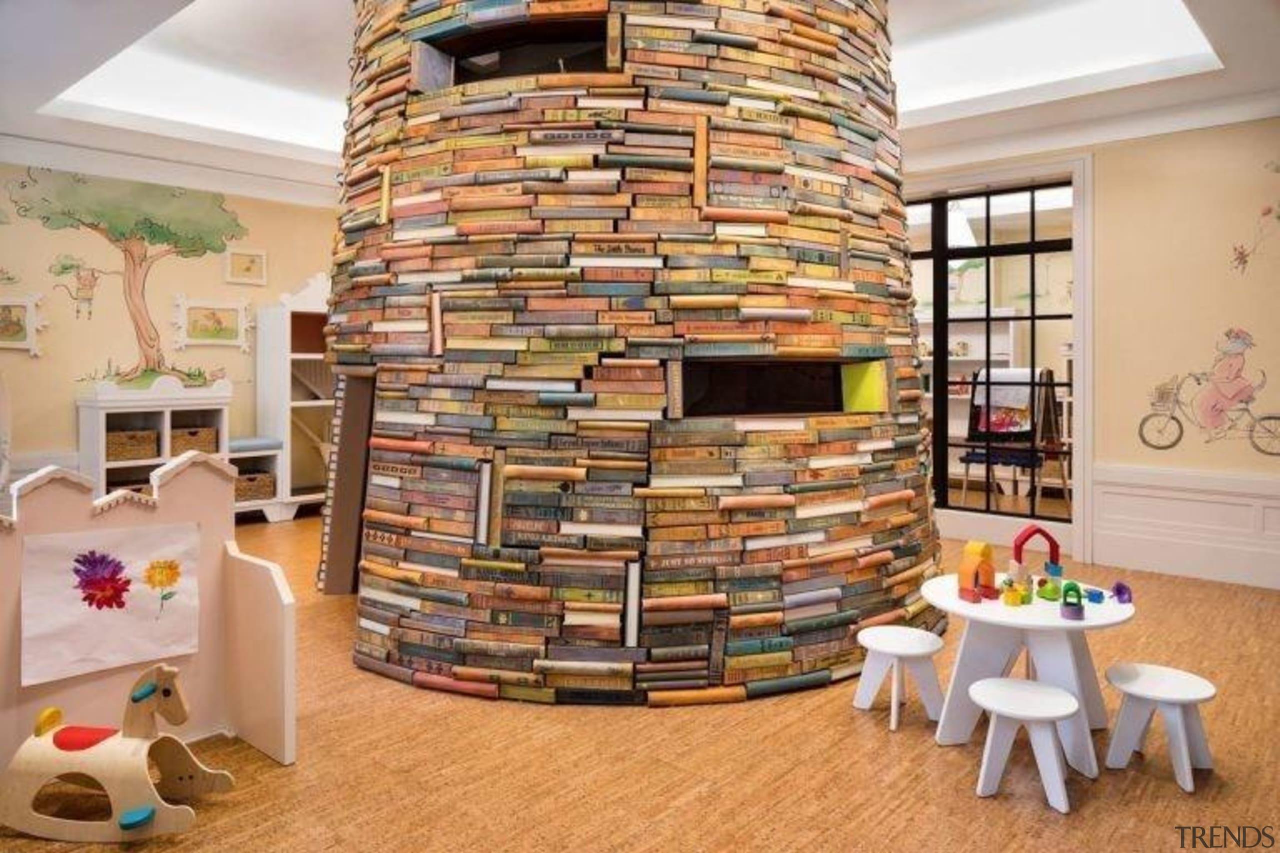 Jon Bon Jovi's new apartment in NYC – flooring, interior design, living room, wall, orange, gray