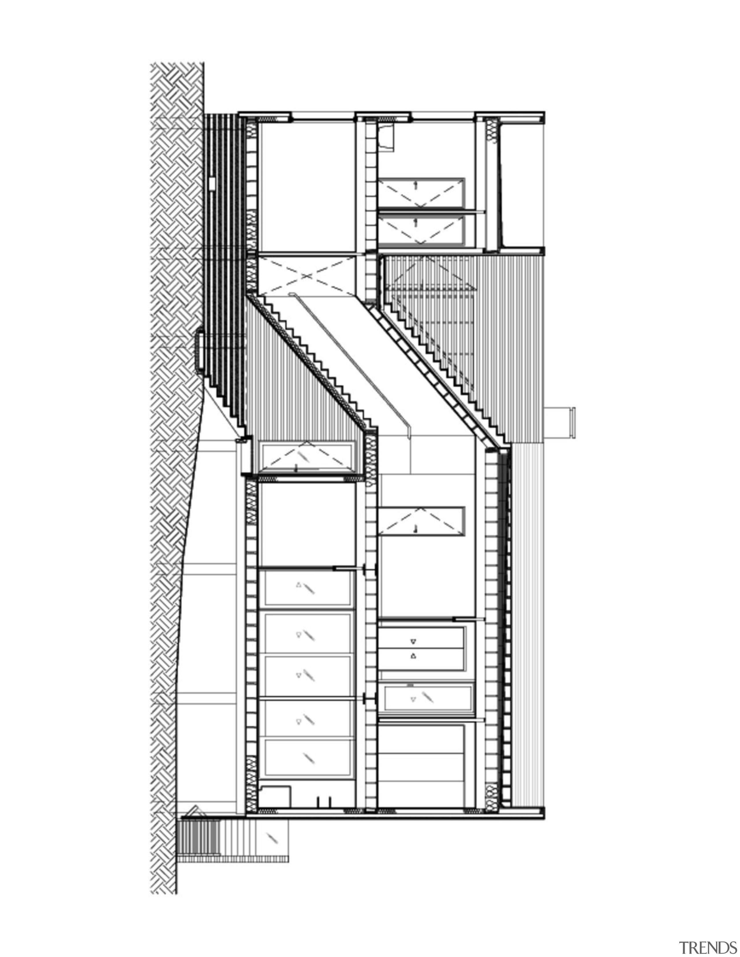 A plan for the home - A plan angle, architecture, area, black and white, design, diagram, drawing, elevation, facade, floor plan, font, line, plan, product, product design, structure, white