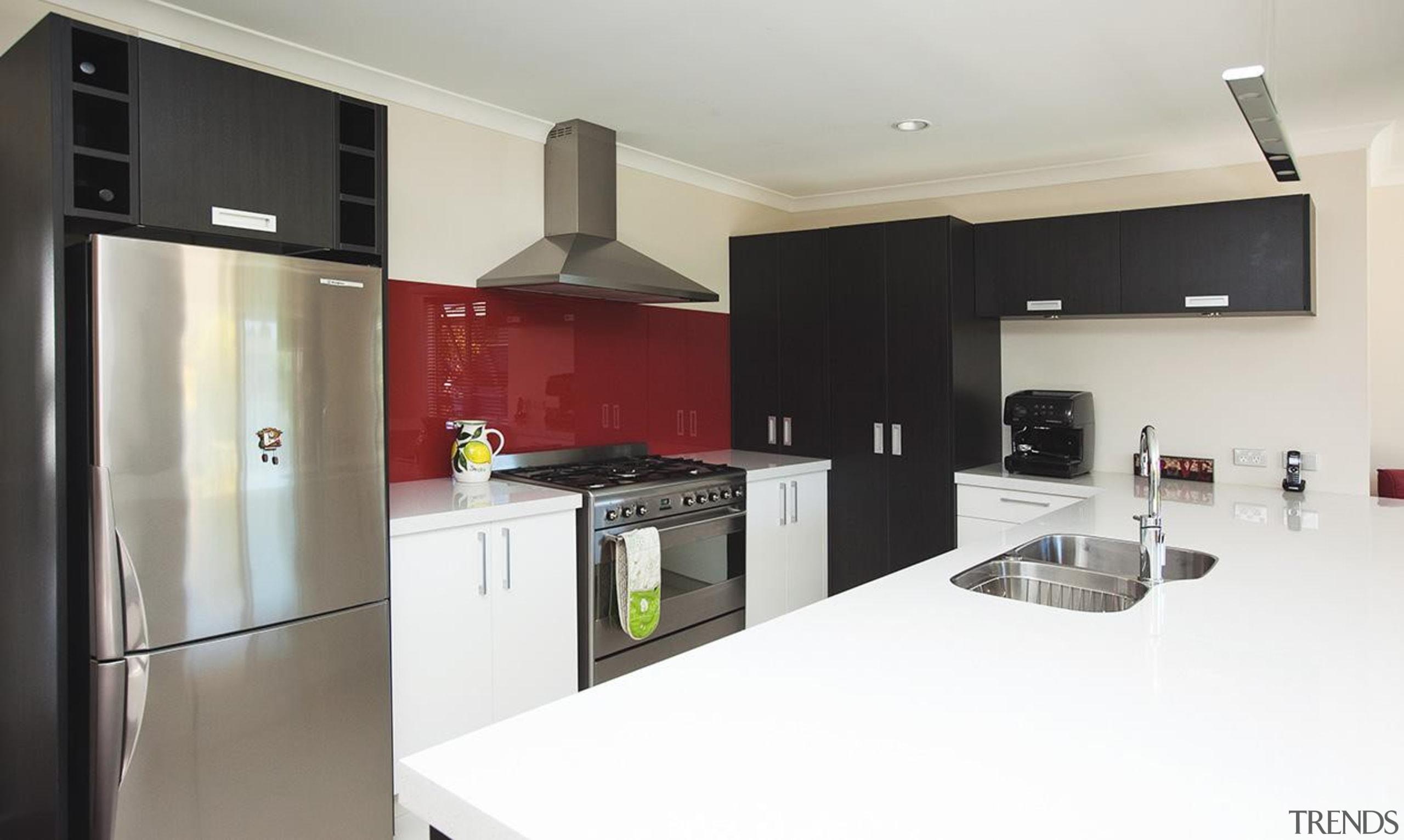 For more information, please visit www.gjgardner.co.nz countertop, cuisine classique, interior design, kitchen, property, real estate, room, white, gray