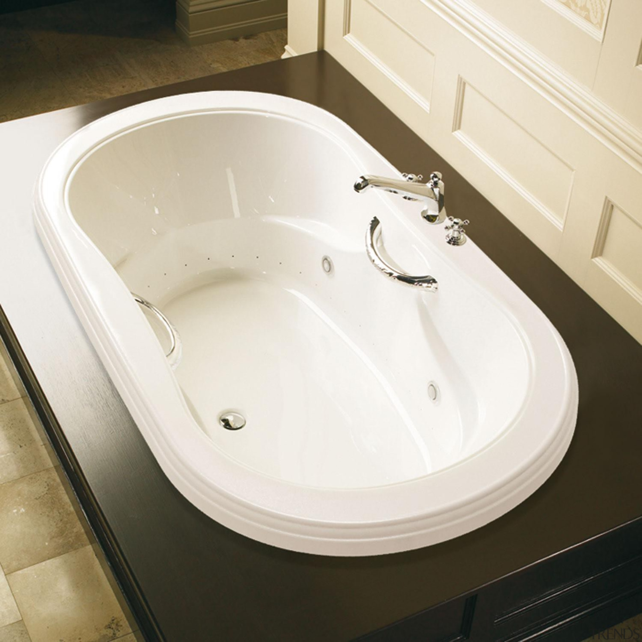 Style and details is what sets apart this angle, bathroom, bathroom sink, bathtub, ceramic, floor, plumbing fixture, product design, sink, tap, toilet seat, white