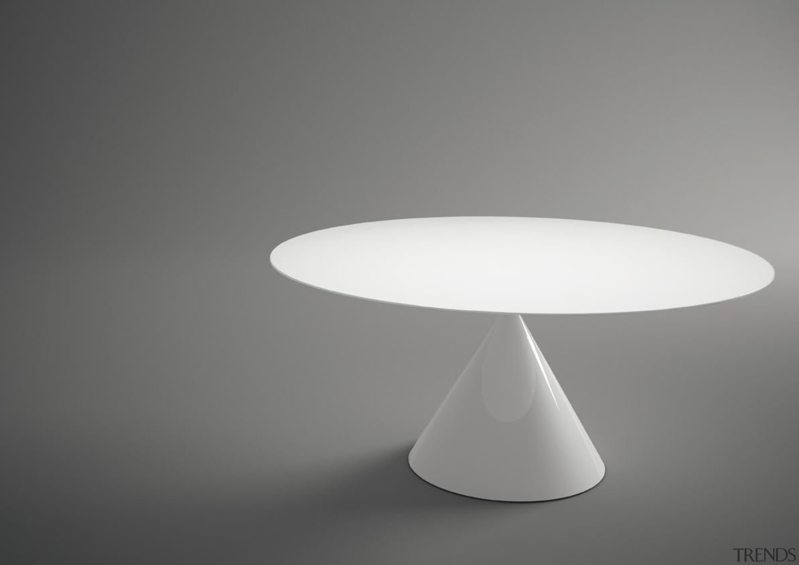 This year's International Furniture Fair Milan, featured many furniture, light fixture, lighting accessory, table, gray