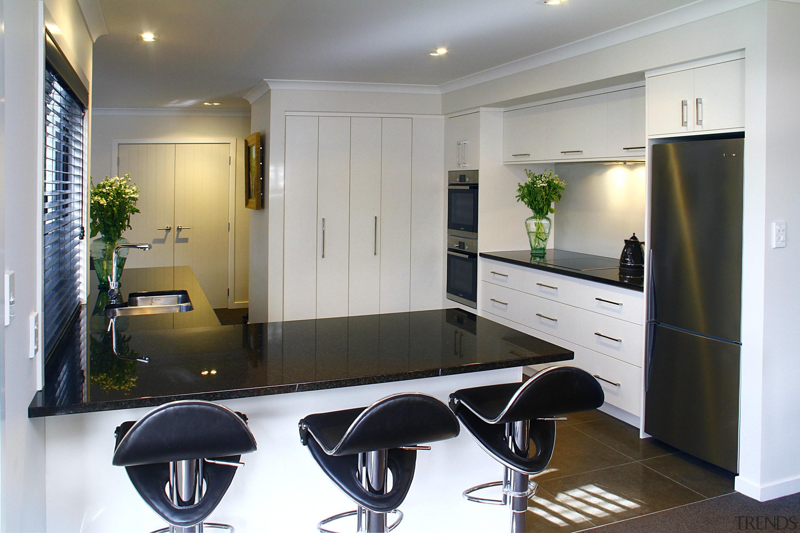 Open kitchen - cabinetry | interior design | cabinetry, interior design, kitchen, product design, real estate, room, gray, white