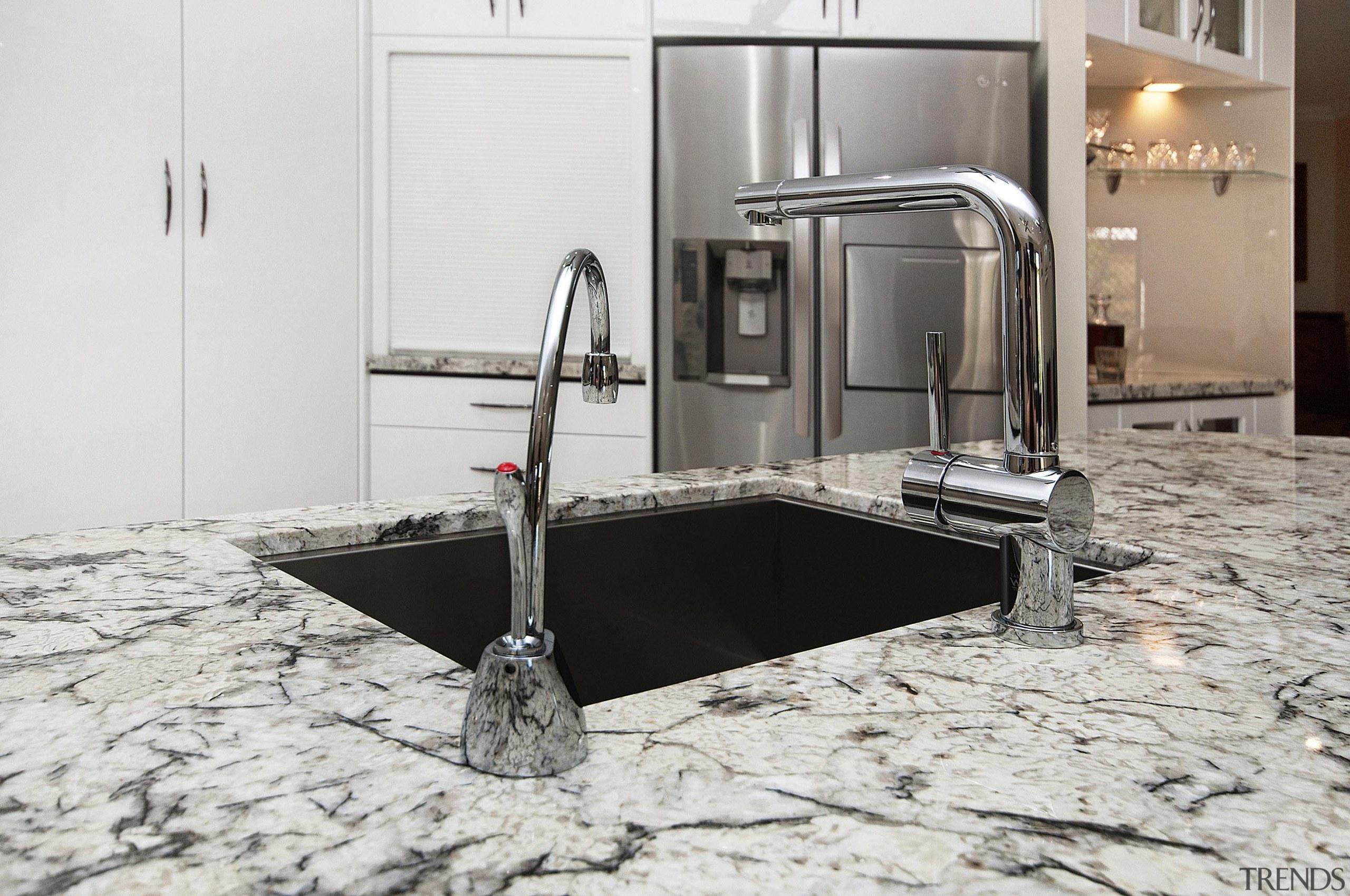 Winner Kitchen Design of the Year 2013 North countertop, floor, flooring, granite, kitchen, sink, tap, white