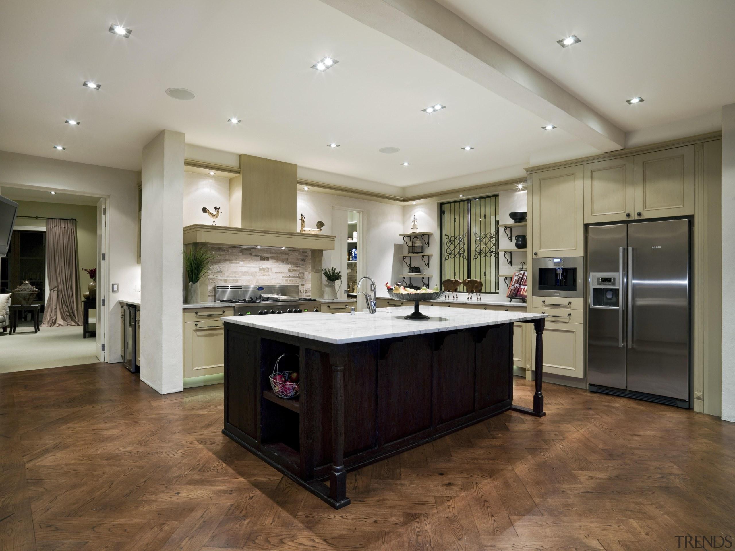 110goodlands 210 - Goodlands_210 - cabinetry | ceiling cabinetry, ceiling, countertop, floor, flooring, hardwood, interior design, kitchen, laminate flooring, real estate, room, wood flooring, gray, brown