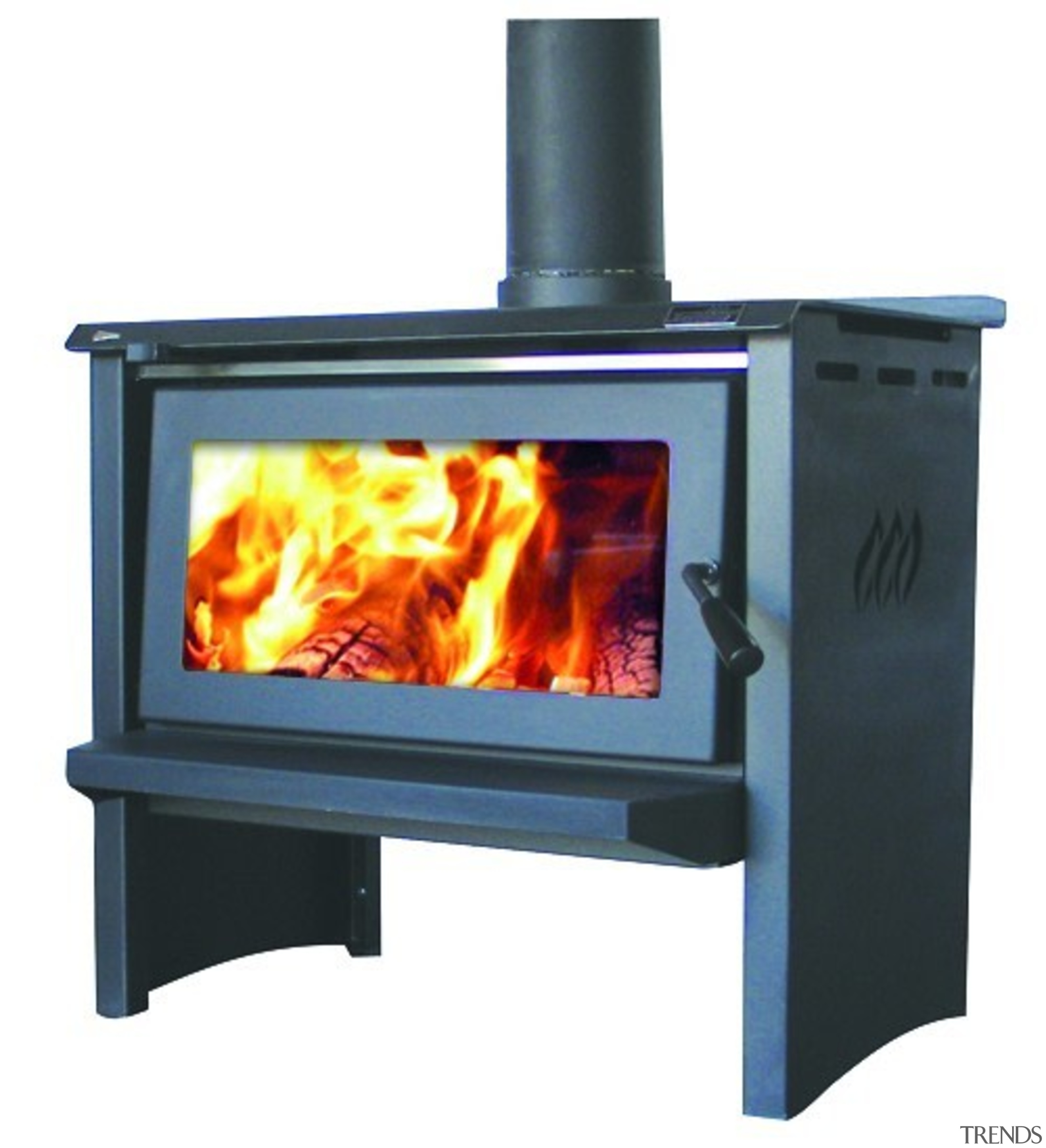 Jayline SS400 19kW Wood Fire - Jayline SS400 hearth, heat, home appliance, product, stove, wood burning stove, white