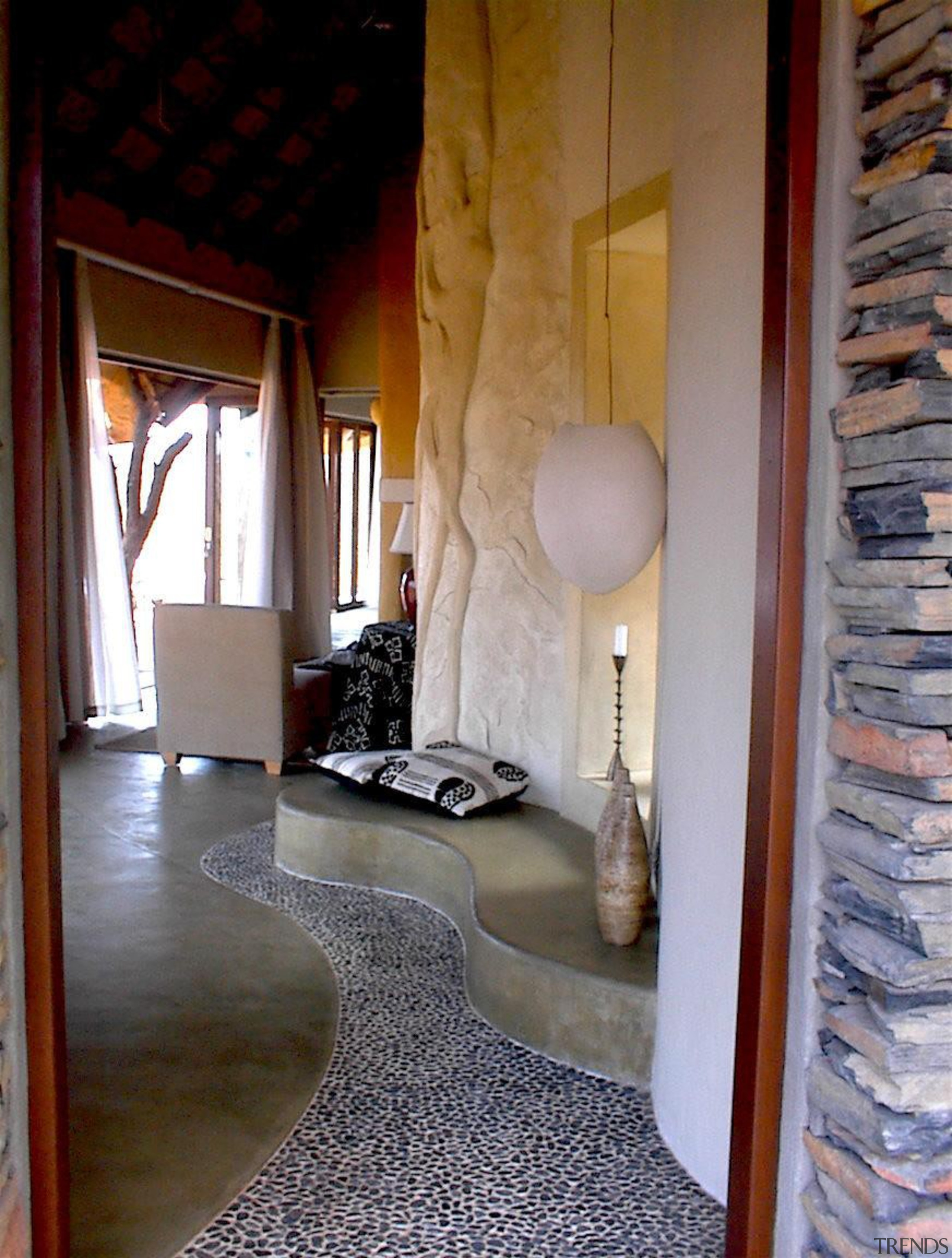Micro topping 15 - Micro_topping_15 - ceiling   ceiling, floor, flooring, furniture, home, interior design, living room, loft, property, room, wall, gray