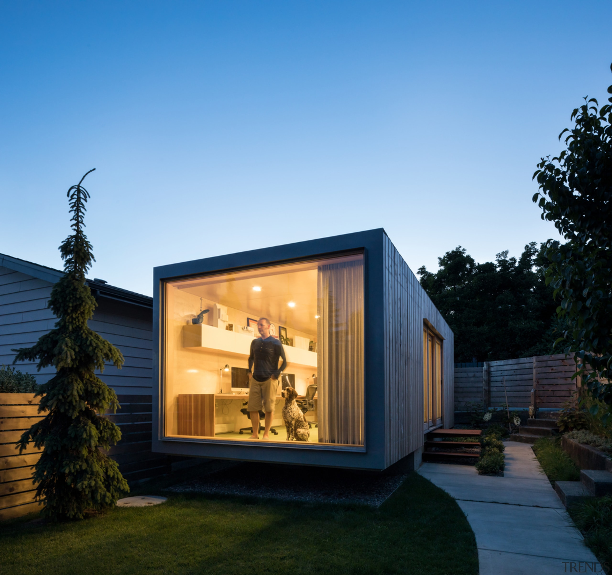 Architect in residence - architecture | building | architecture, building, cottage, facade, home, house, property, real estate, shed, siding, window, teal, black