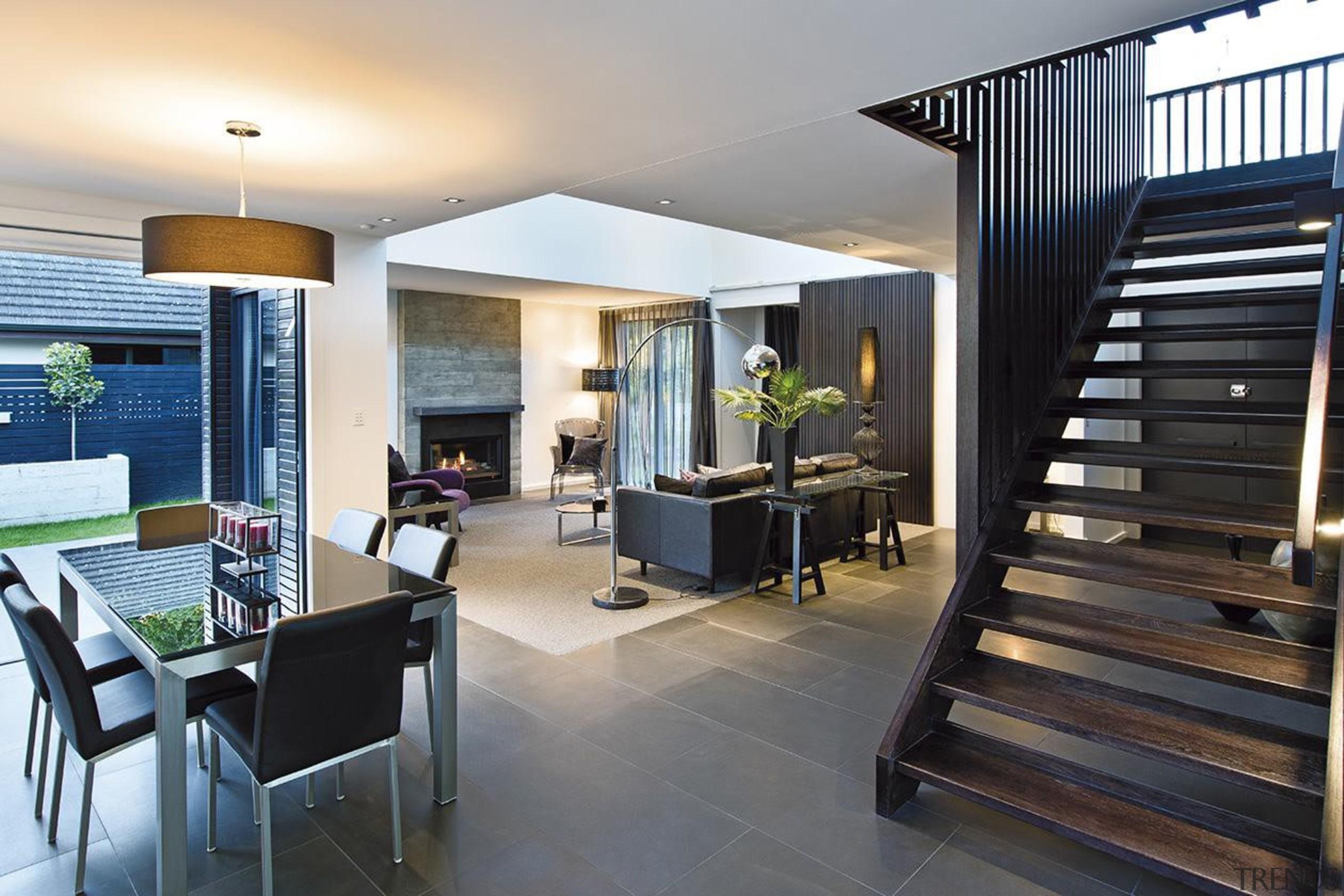 For more information, please visit www.gjgardner.co.nz apartment, flooring, house, interior design, living room, property, real estate, black, gray, white