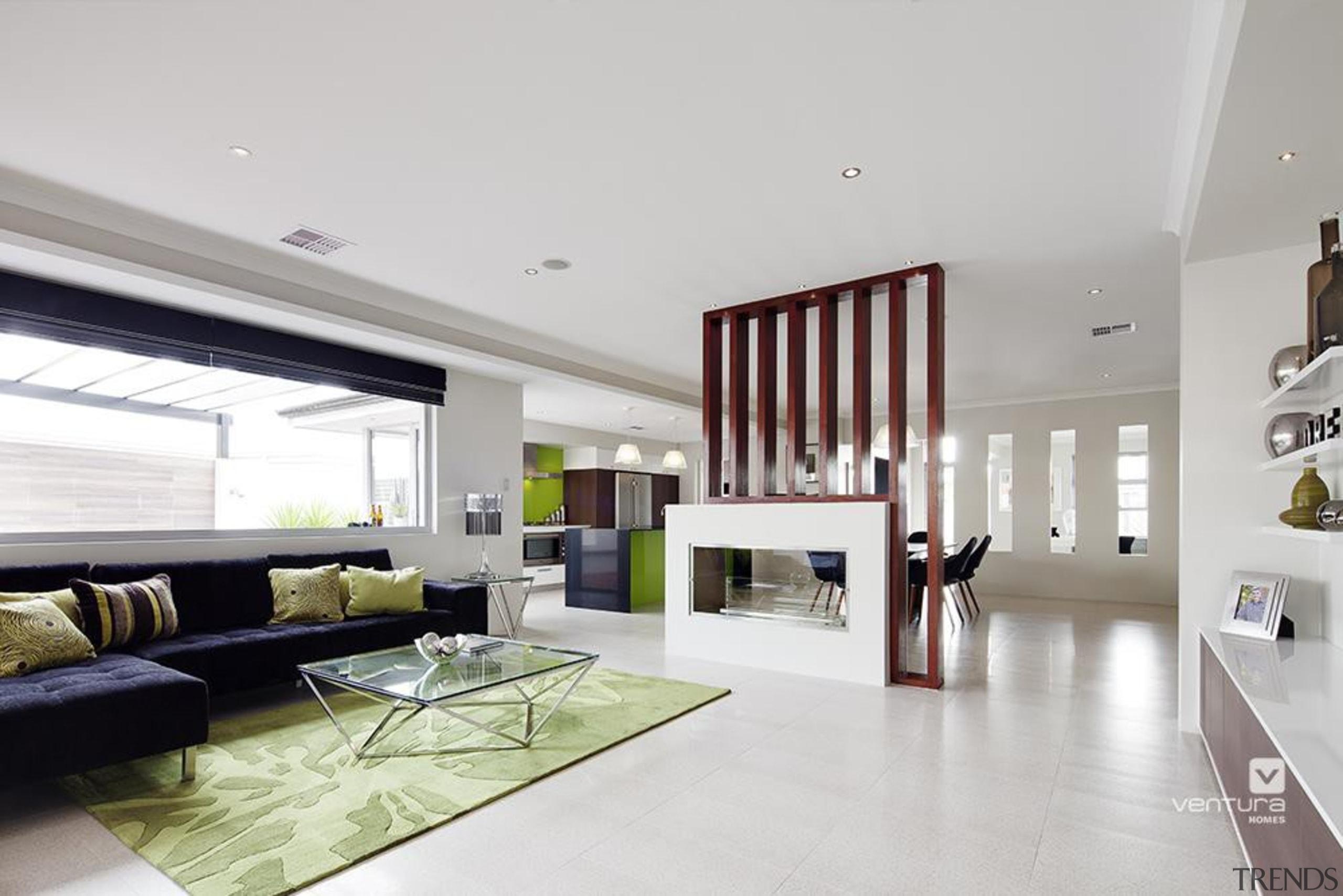 Living Room Design. - The Spectrum Display Home ceiling, floor, flooring, house, interior design, living room, property, real estate, window, gray
