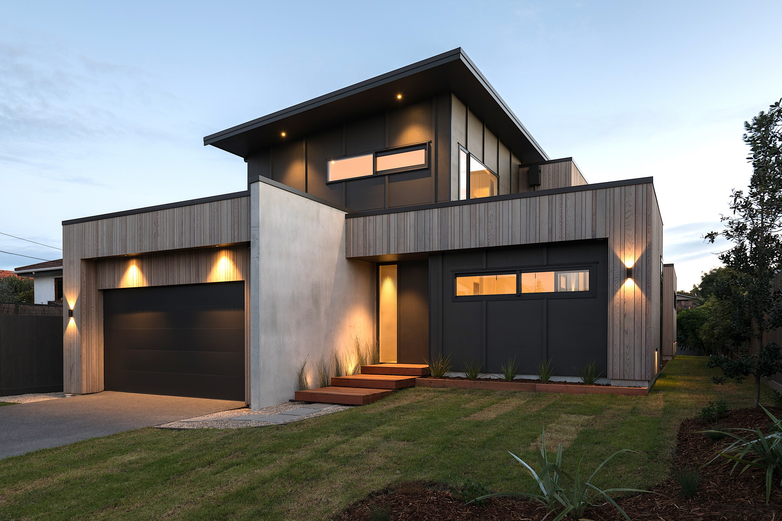 Designed by JMAC Architects, this home's sophisticated modern