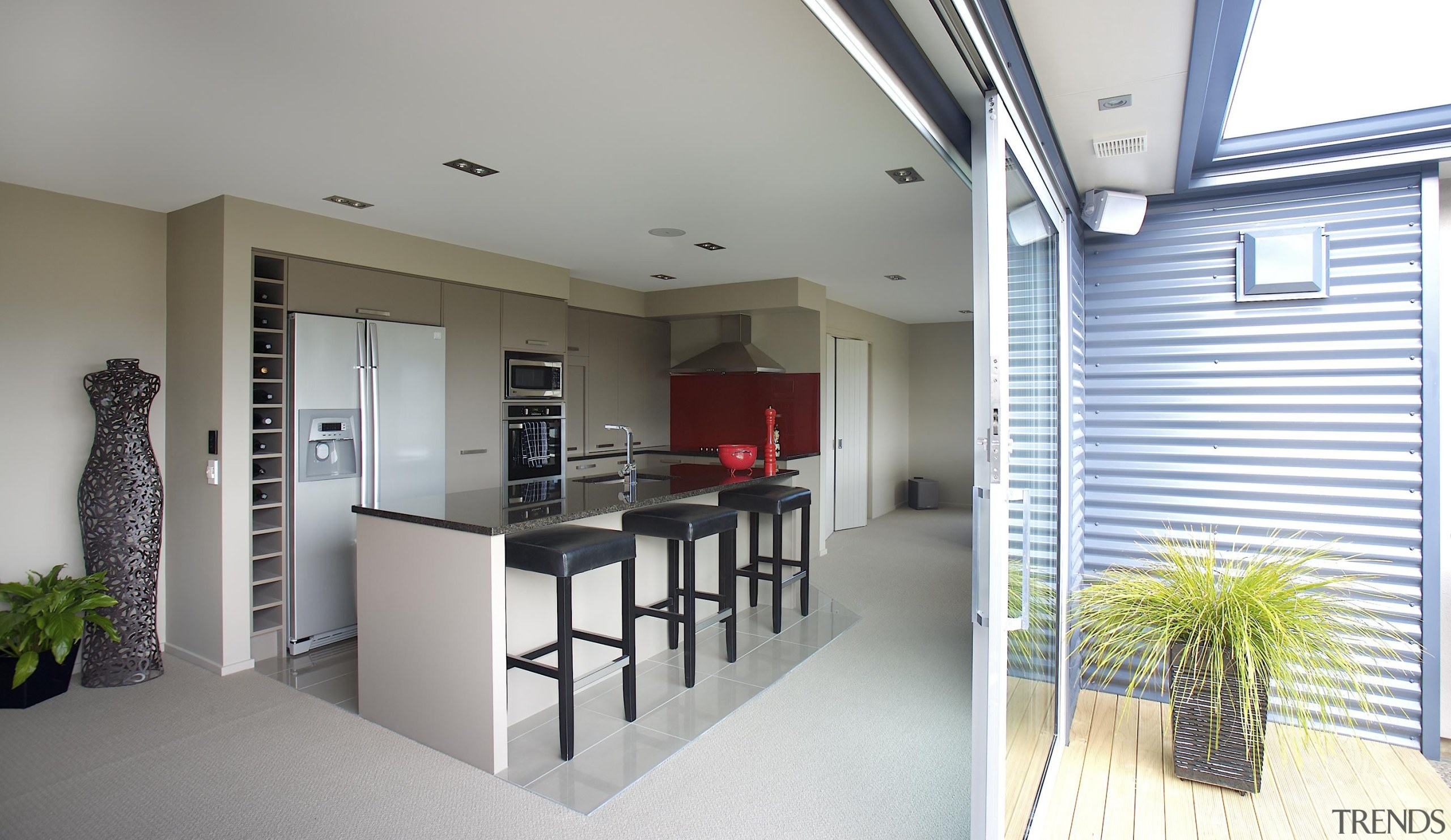 For more information, please  visit www.gjgardner.co.nz daylighting, door, house, interior design, property, real estate, window, gray, white