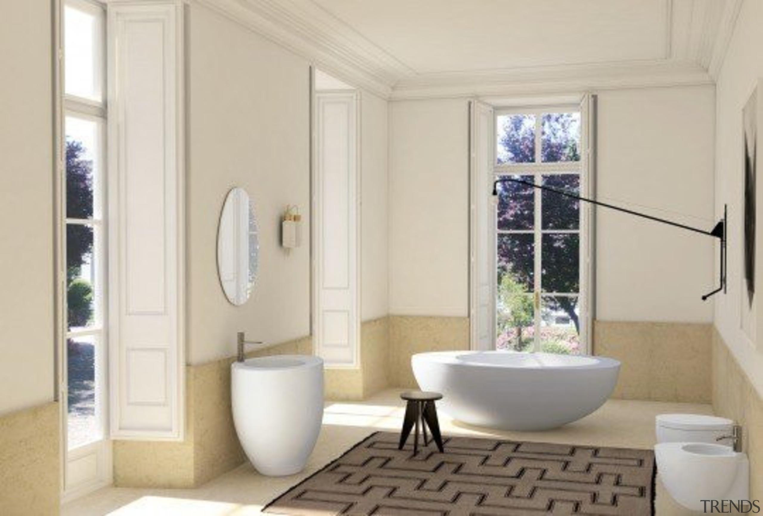 Suite - bathroom | home | interior design bathroom, home, interior design, plumbing fixture, room, gray