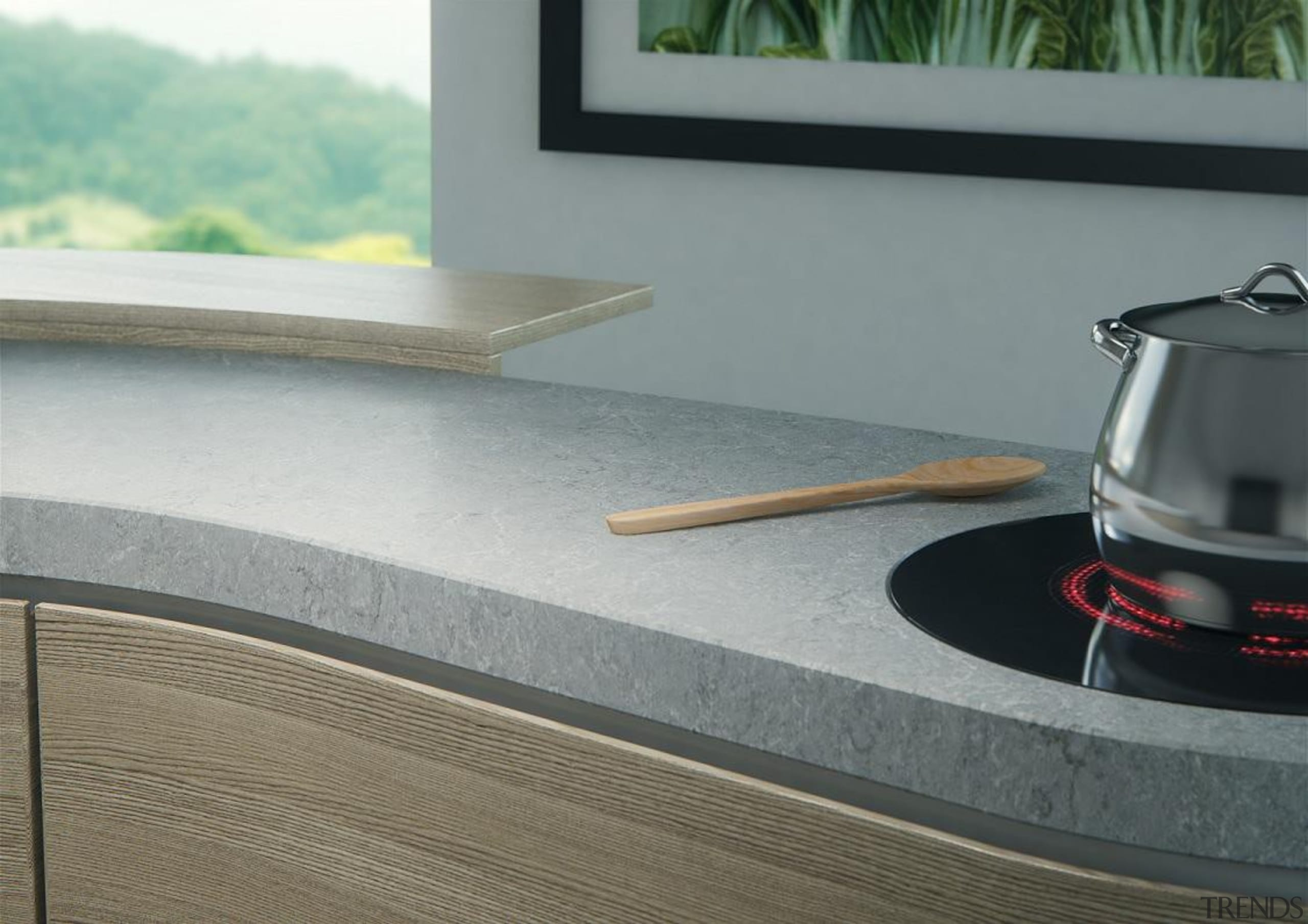 Another unique design inspired by light granites, also automotive exterior, floor, product design, roof, gray