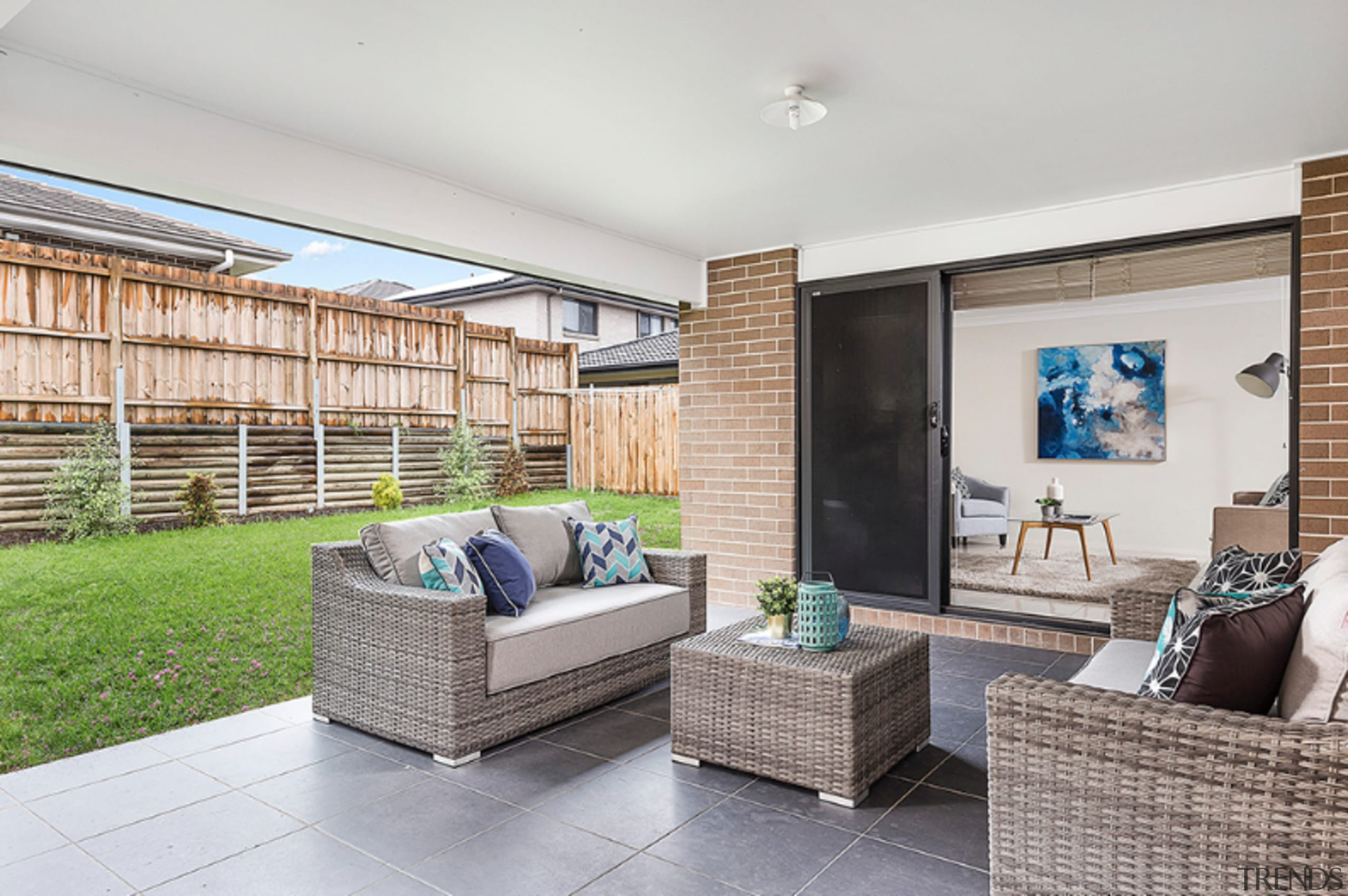 How to achieve an irresistible outdoor living space apartment, building, ceiling, coffee table, condominium, estate, floor, furniture, home, house, interior design, living room, property, real estate, room, table, wall, gray