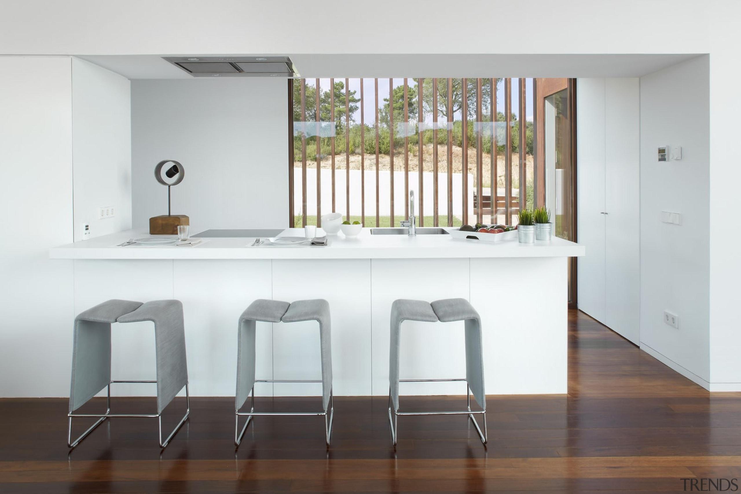 Blanco Zeus Extreme (1) 9 - Blanco Zeus architecture, floor, flooring, furniture, house, interior design, product design, real estate, table, wall, white