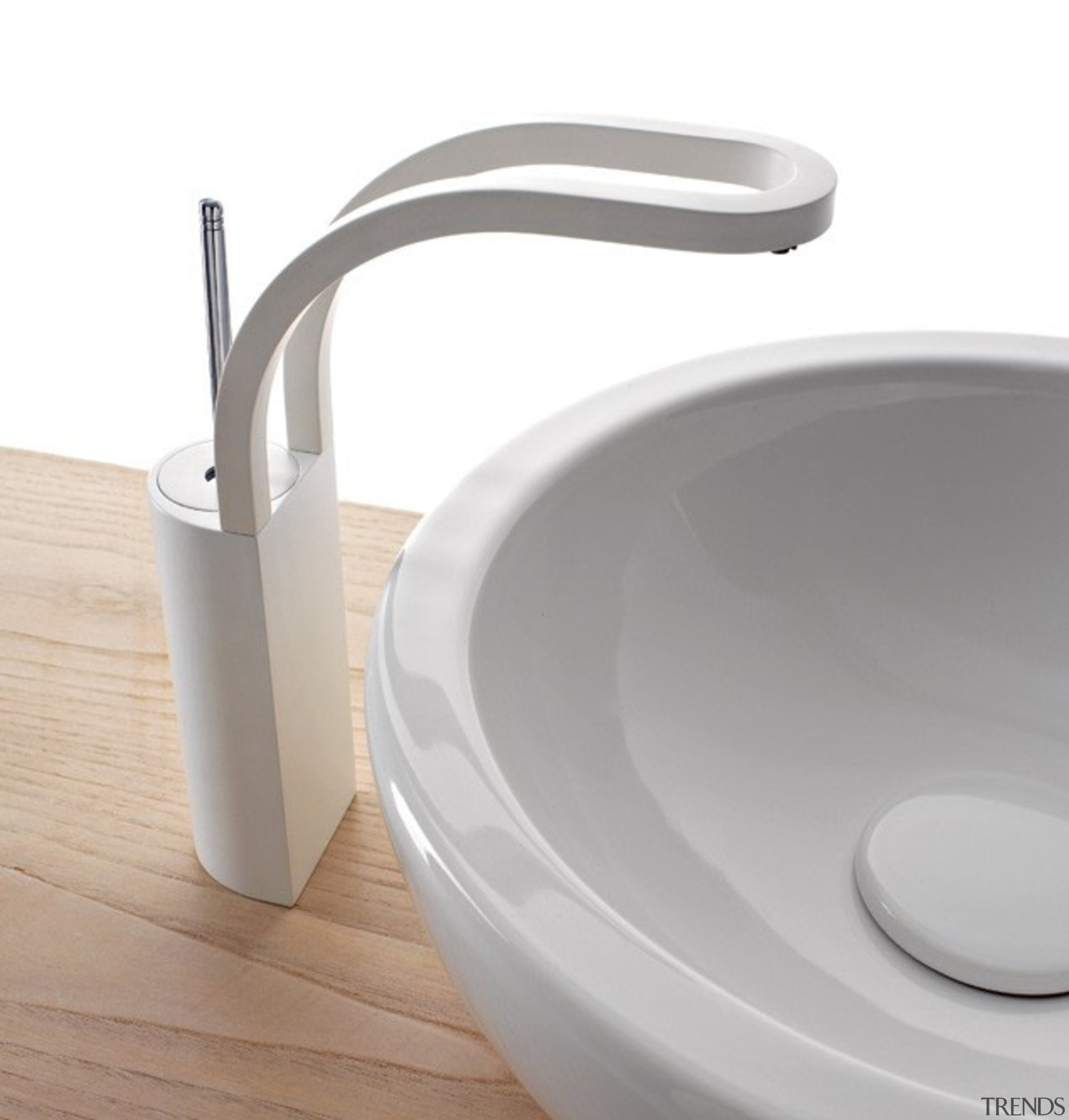 Trenz 04 - bathroom sink | hardware | bathroom sink, hardware, plumbing fixture, product, product design, sink, tap, toilet seat, white, gray