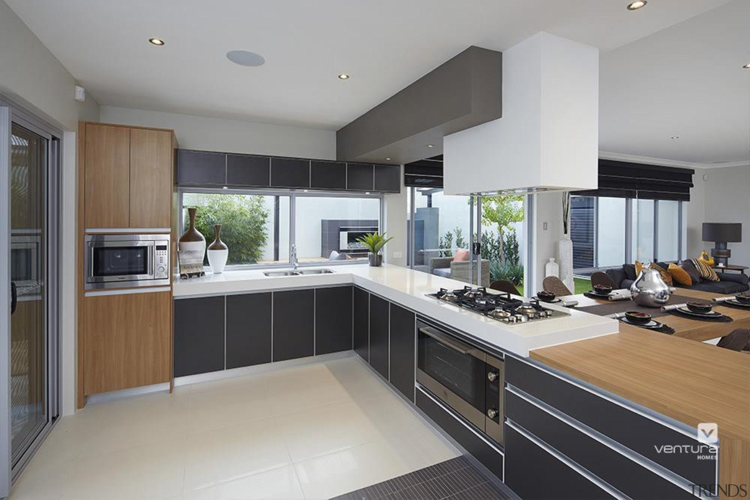 Kitchen design. - The Allure Display Home - countertop, cuisine classique, interior design, kitchen, real estate, gray