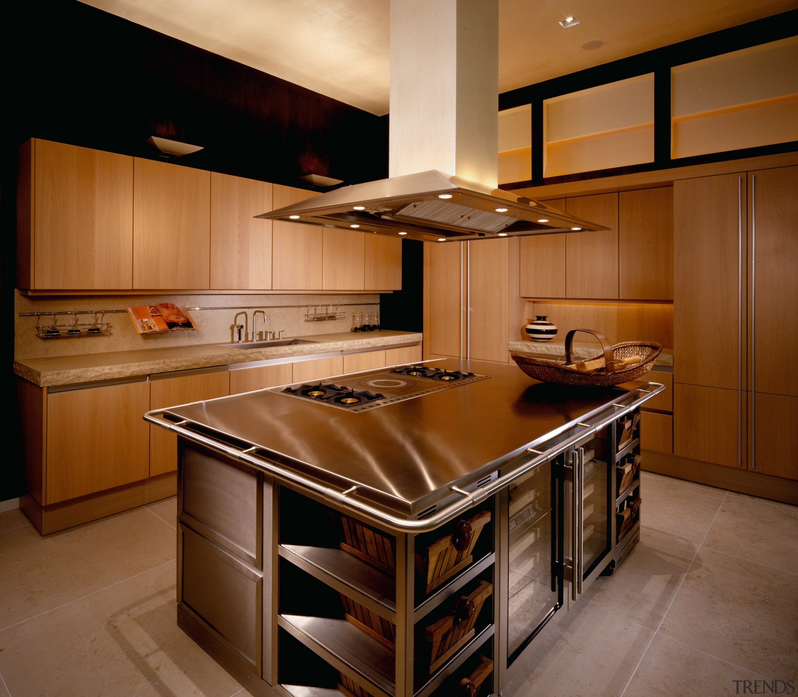View of this kitchen - View of this cabinetry, countertop, cuisine classique, hardwood, interior design, kitchen, room, under cabinet lighting, wood, brown