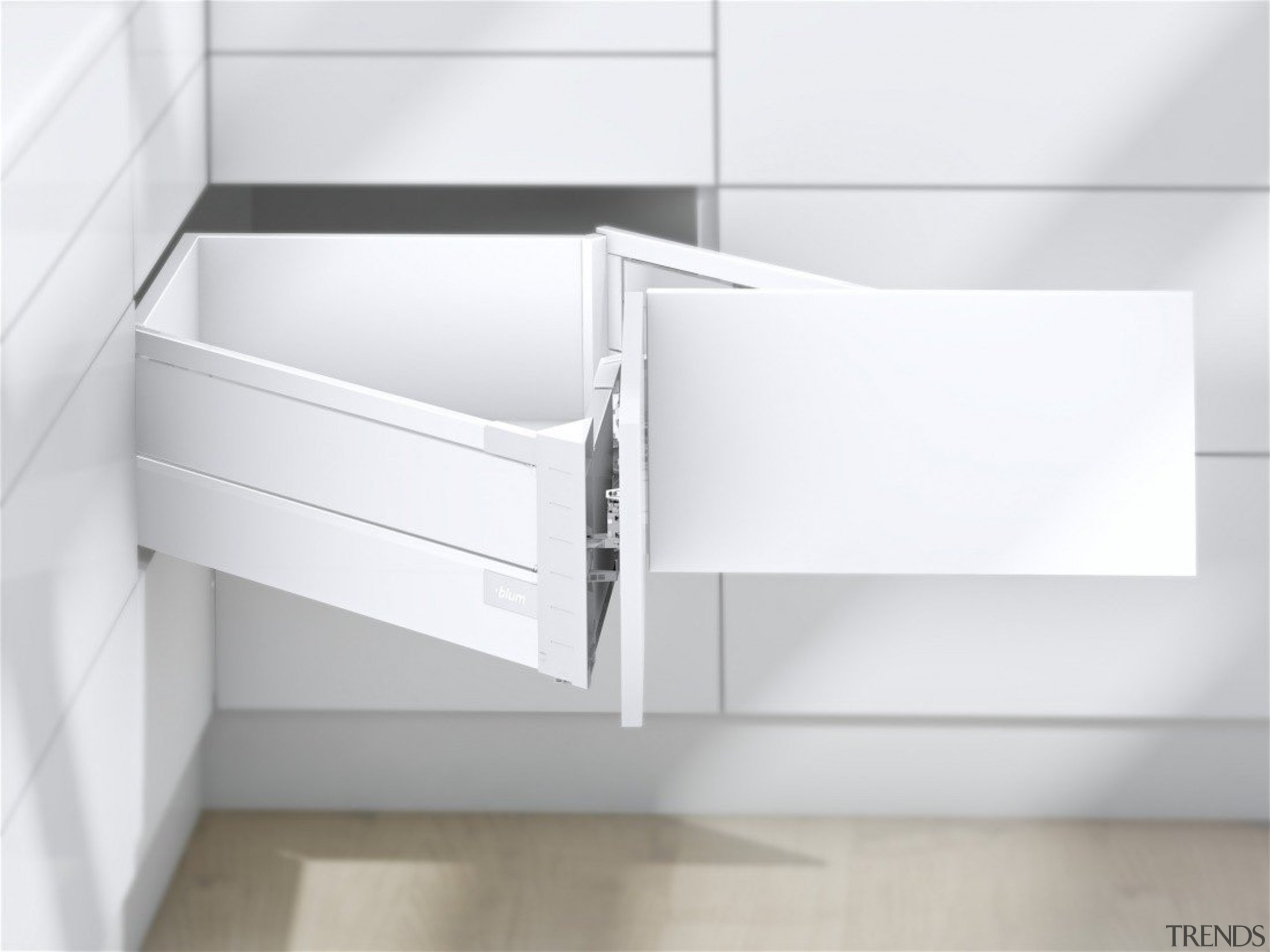 The SPACE CORNER gives you full extension drawers angle, bathroom accessory, bathroom cabinet, bathroom sink, chest of drawers, drawer, furniture, line, plumbing fixture, product, sink, tap, white