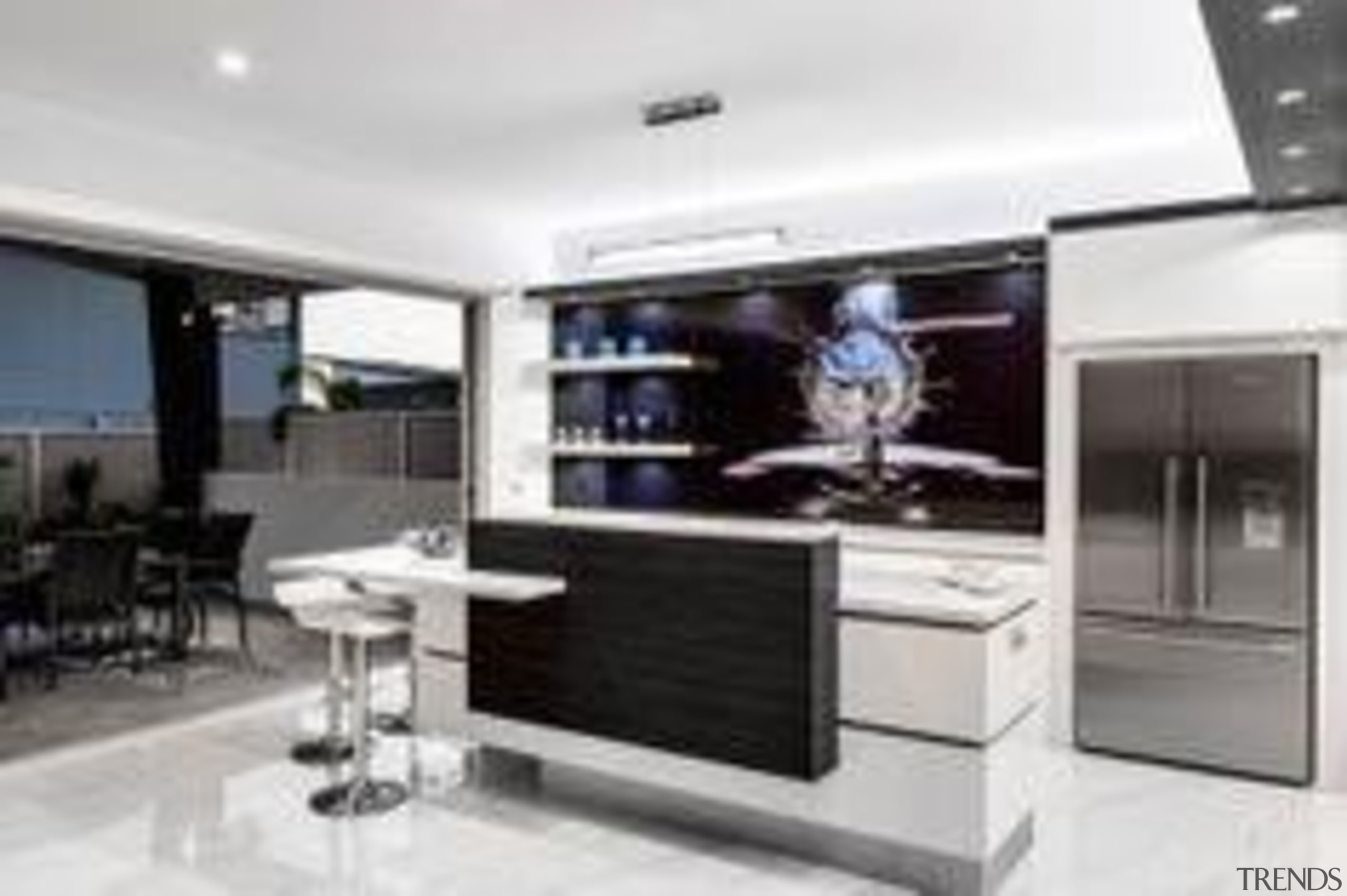 Sublime Architectural Interiors Frosty Carrina - Frosty Carrina™ countertop, interior design, kitchen, property, white