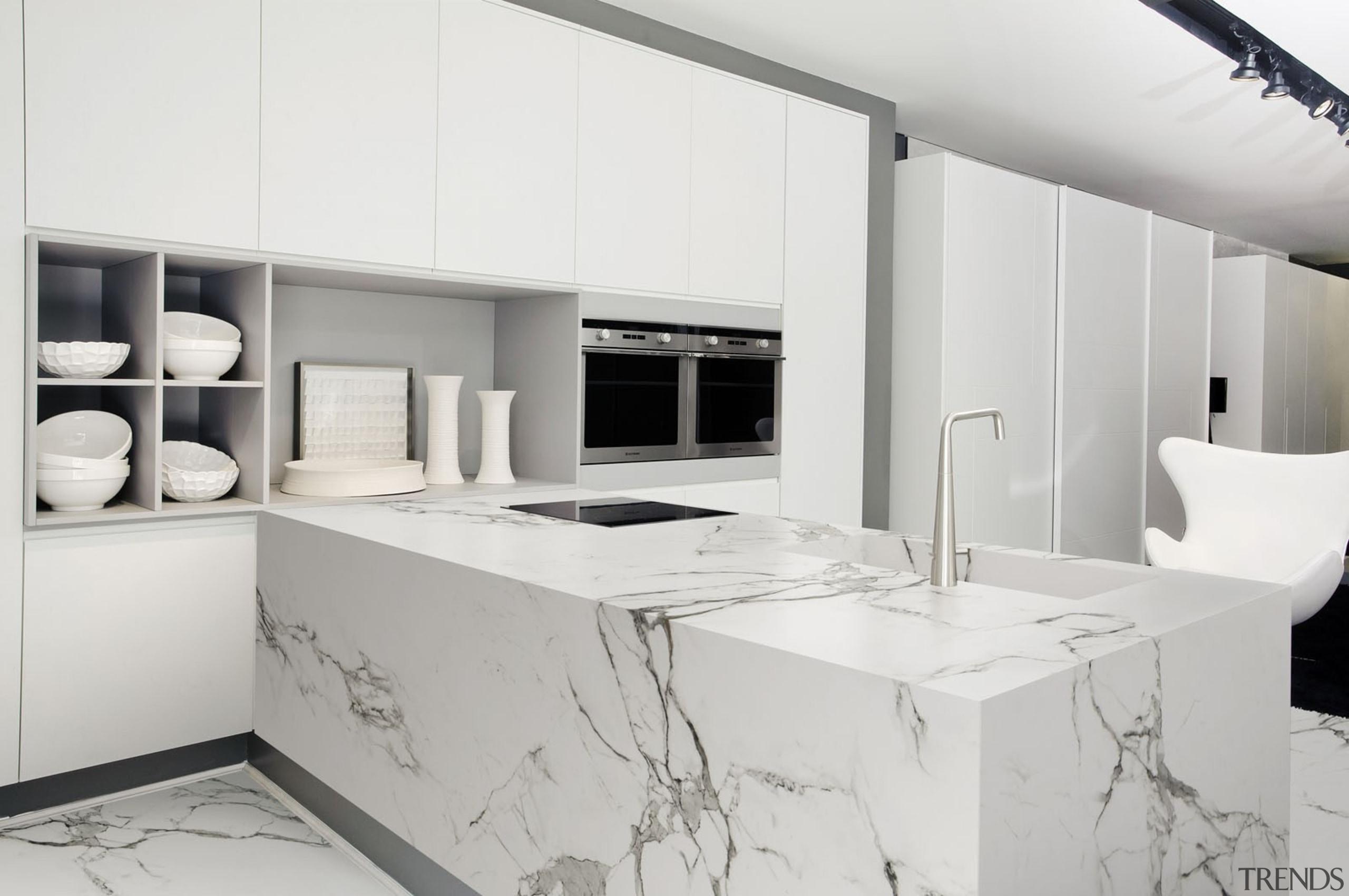 AURA Cocina - AURA Cocina - countertop   countertop, interior design, kitchen, product design, white