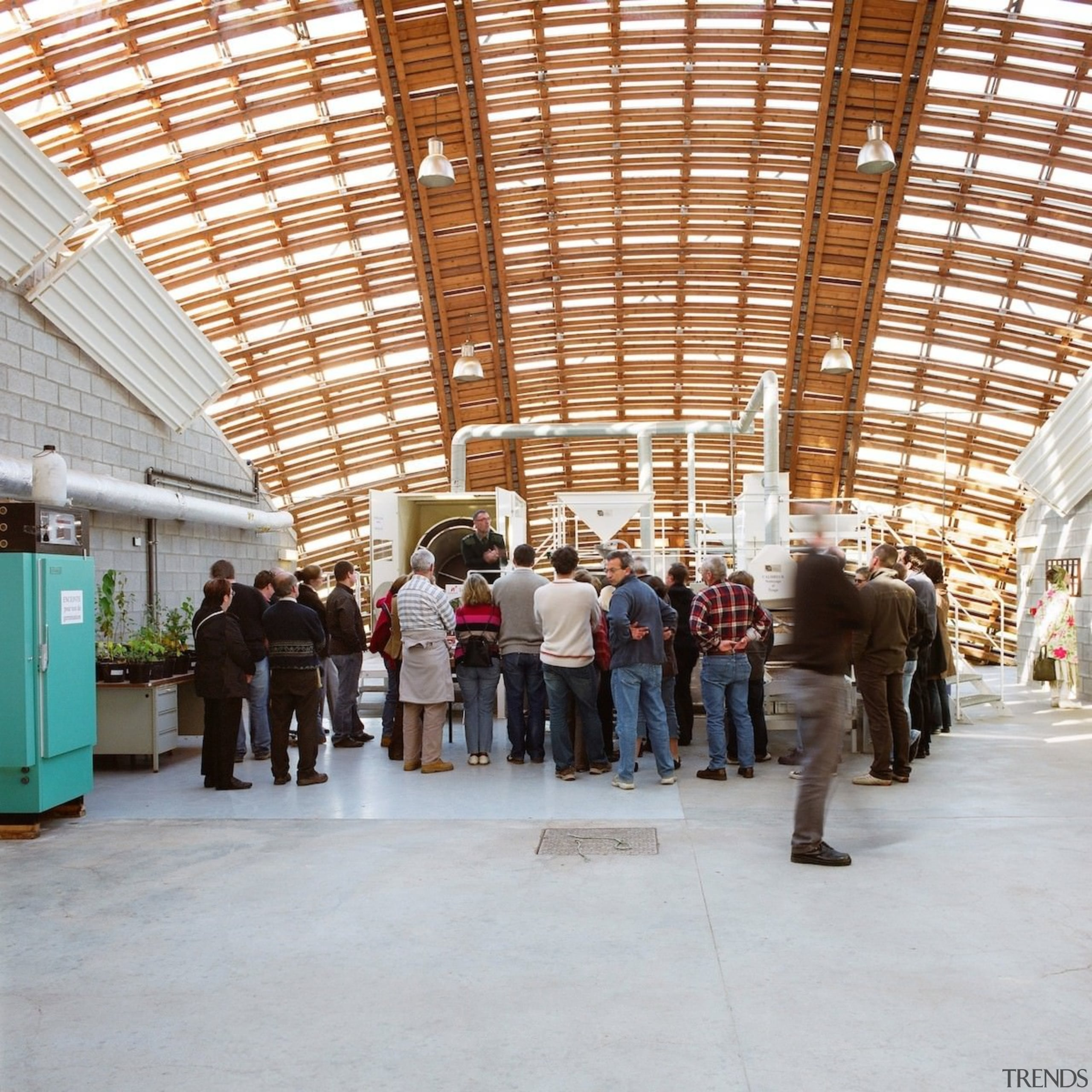 Forestry Branch – Marche-en-Famenne - Forestry Branch – architecture, tourist attraction, gray