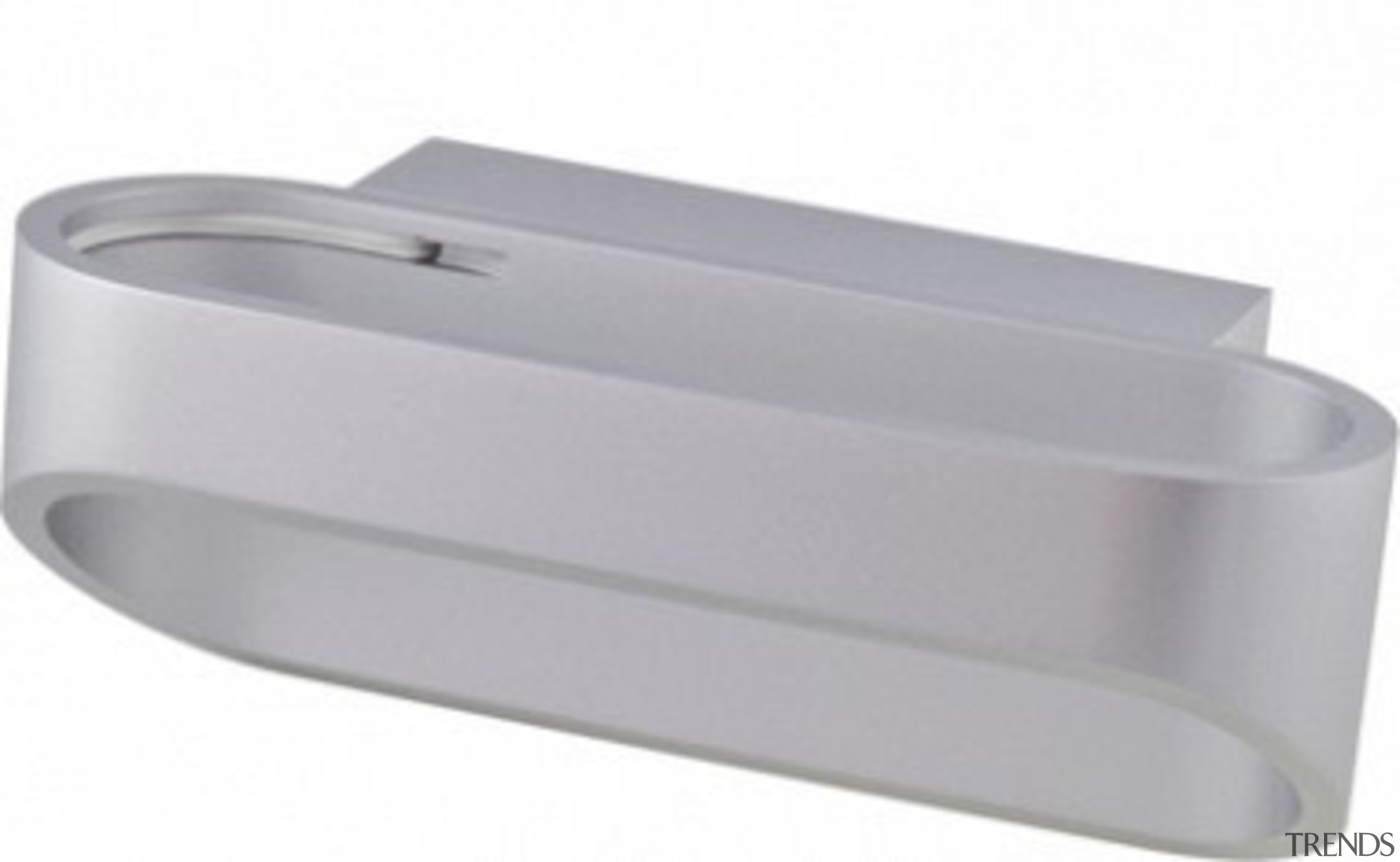 FeaturesAn innovative contemporary interior wall light design that product design, gray, white