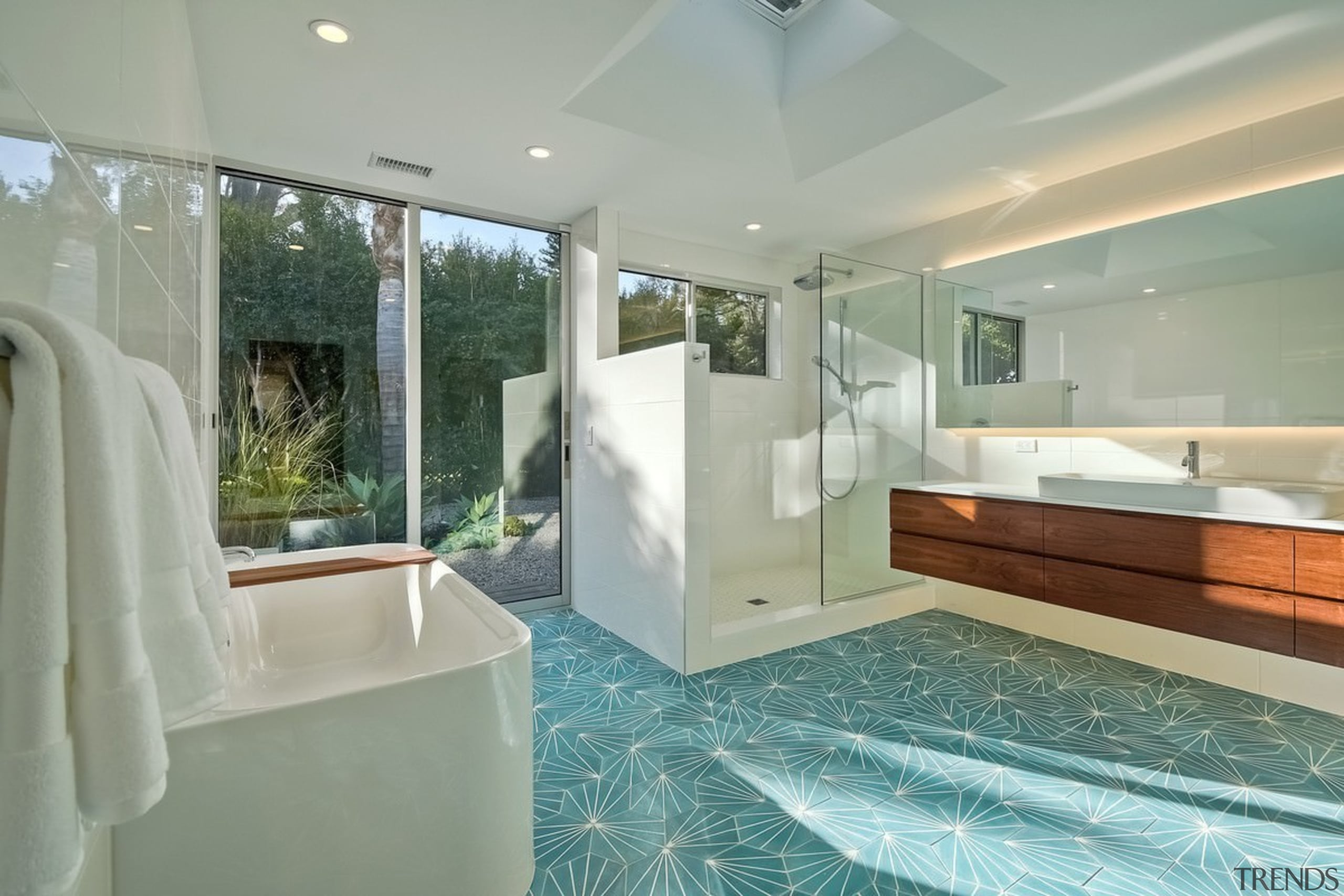 Architect: lloyd russell, aiaPhotography by Darren Bradley architecture, bathroom, bathtub, ceiling, estate, floor, home, interior design, property, real estate, room, window, gray