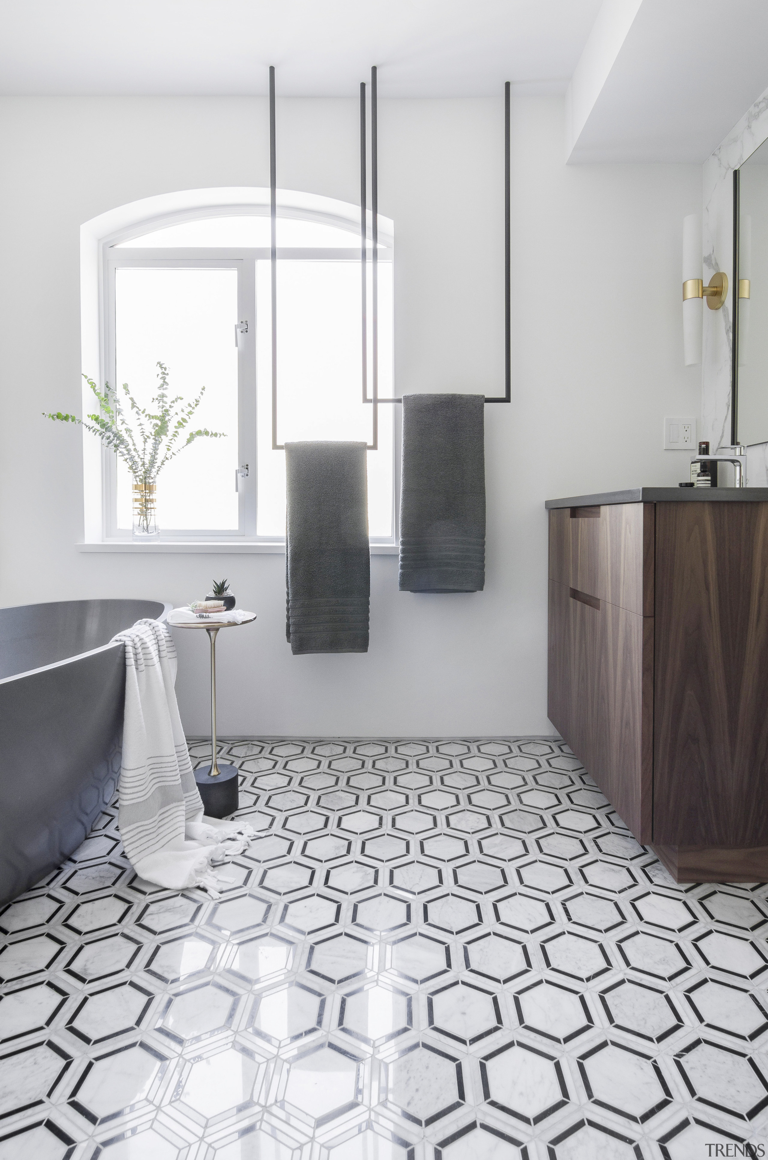 The master ensuite was intended to be a