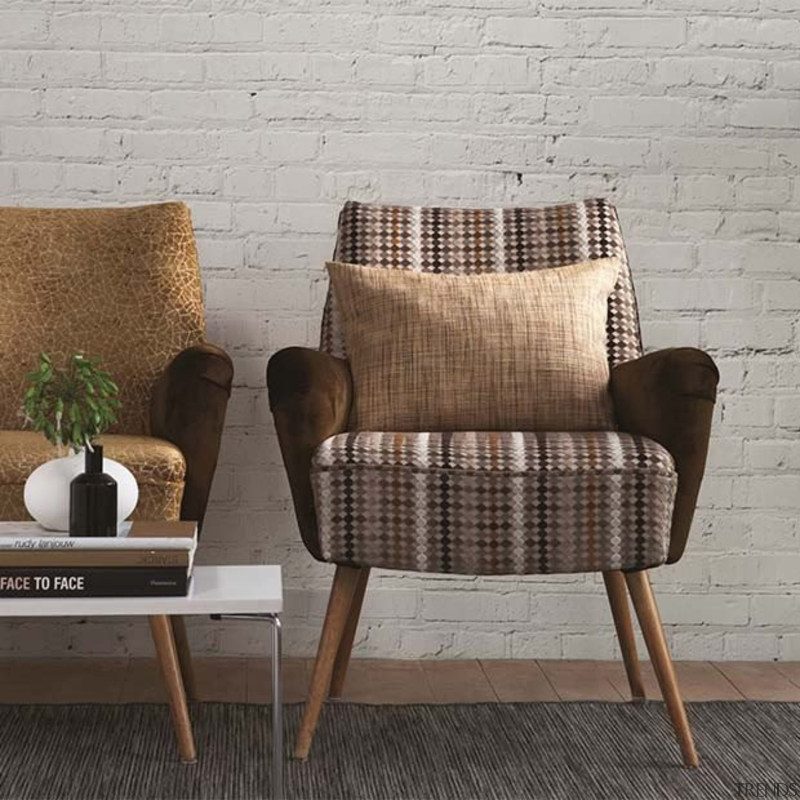 Kaleidoscope 6 - Kaleidoscope 6 - chair   chair, cushion, furniture, loveseat, product, wicker, wood, gray