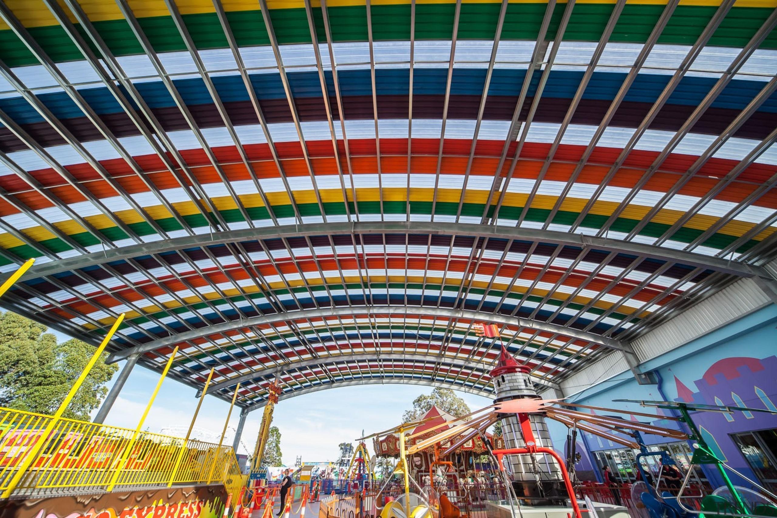 Dimond-Rainbows End - 22 - Dimond - Rainbows amusement park, amusement ride, fair, landmark, metropolitan area, sky, structure, tourist attraction, urban area