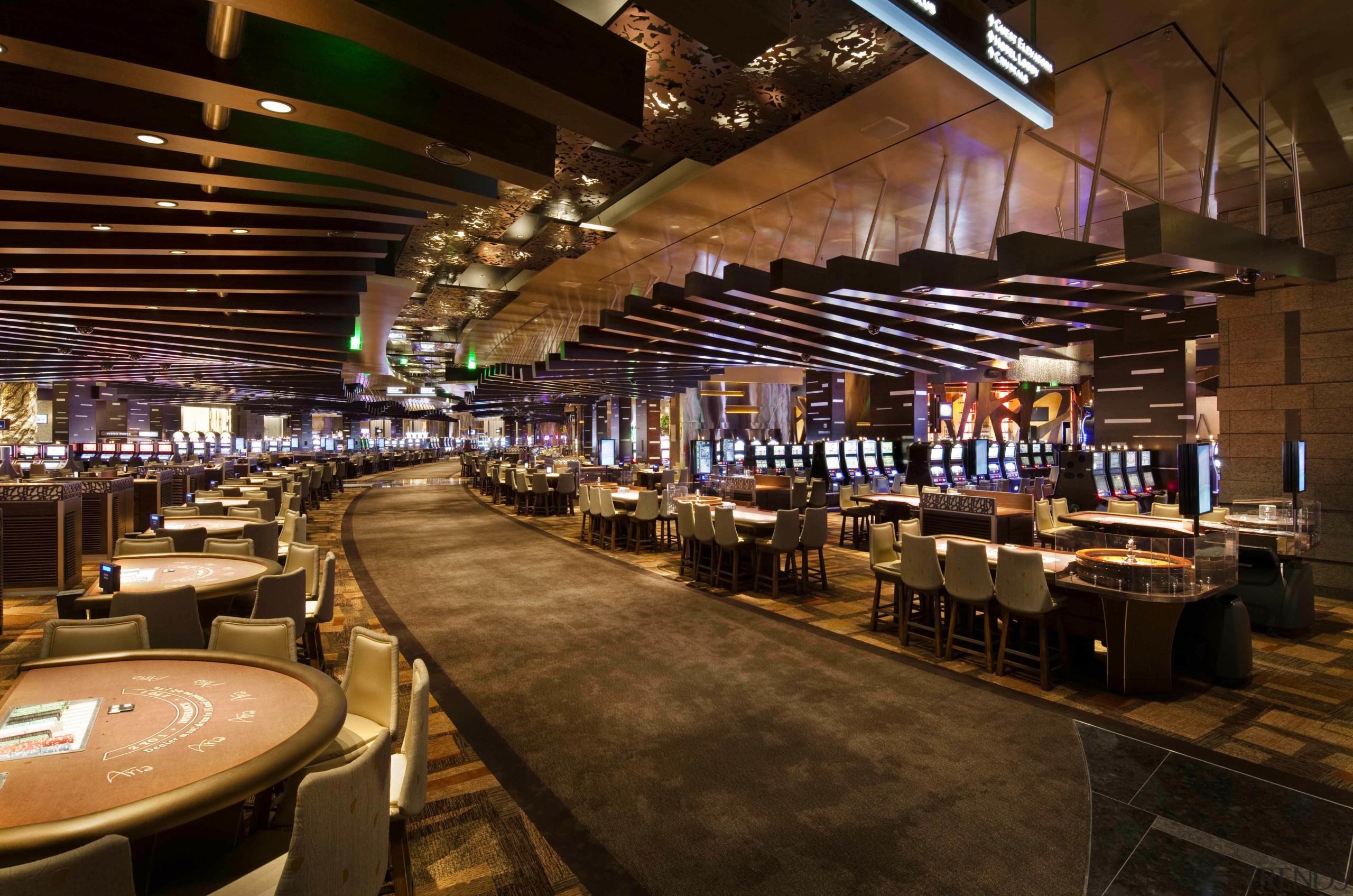 CityCenter, Las Vegas - CityCenter, Las Vegas - casino, restaurant, brown, red