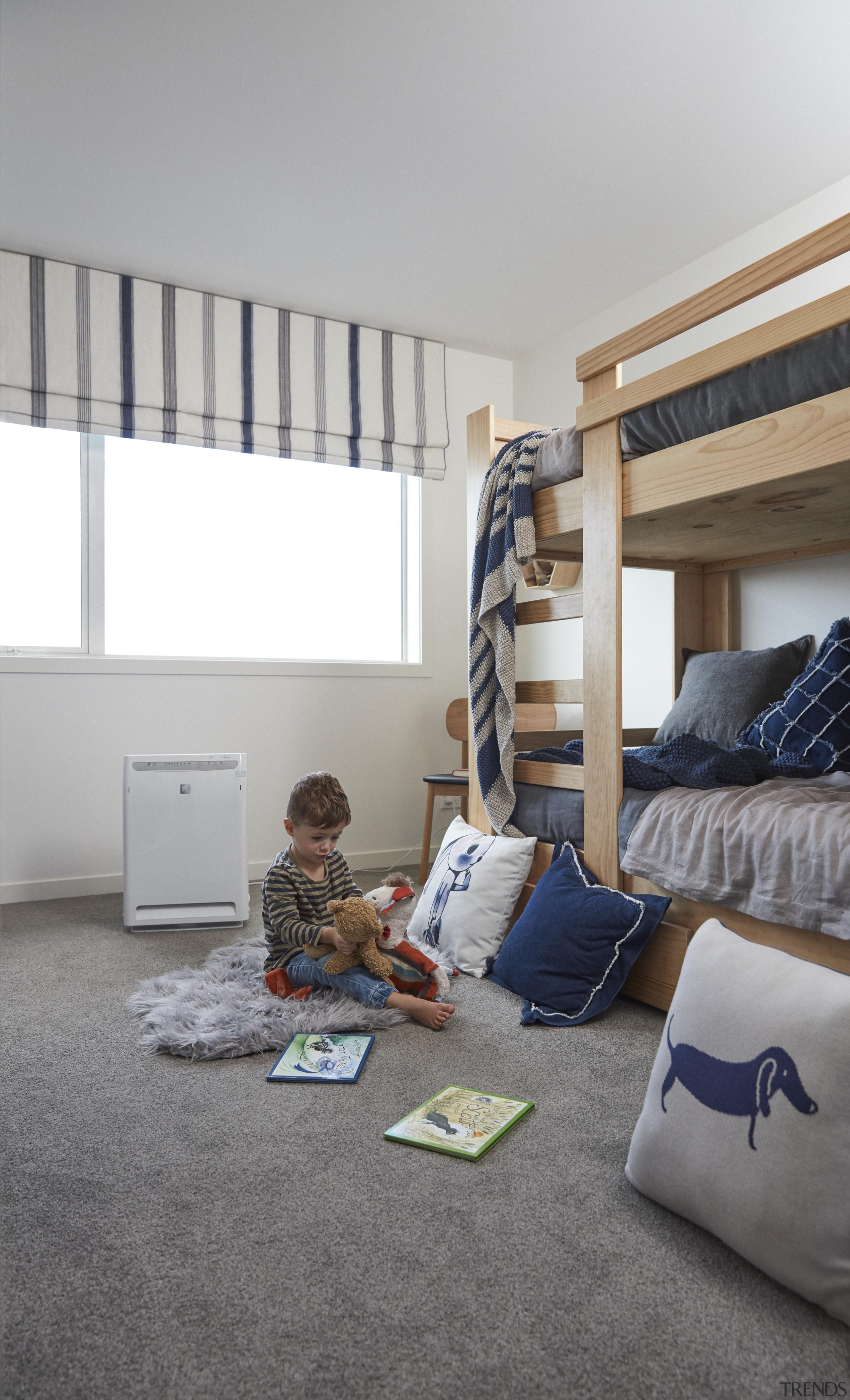 Tl20180411 Daikin Day 1 Bedrooms 161Export - bed bed, bedroom, floor, flooring, furniture, home, house, interior design, living room, room, gray