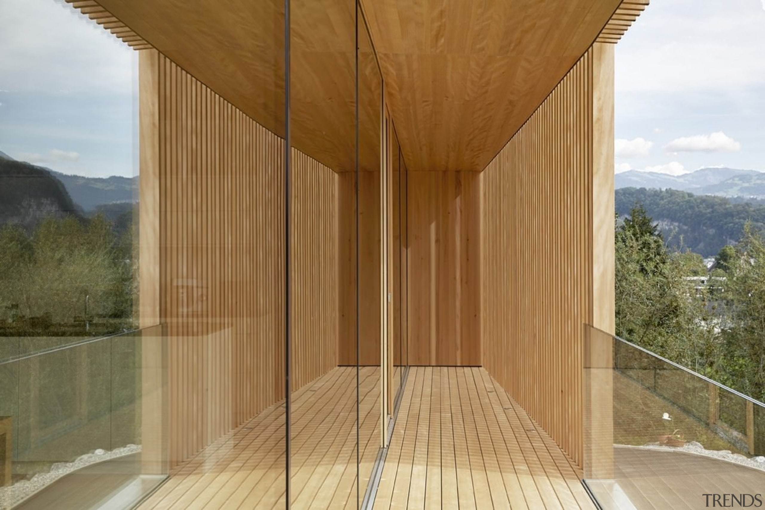 Architect: Helena Weber architectsPhotography by Adolf Bereuter architecture, facade, house, property, real estate, wood, brown