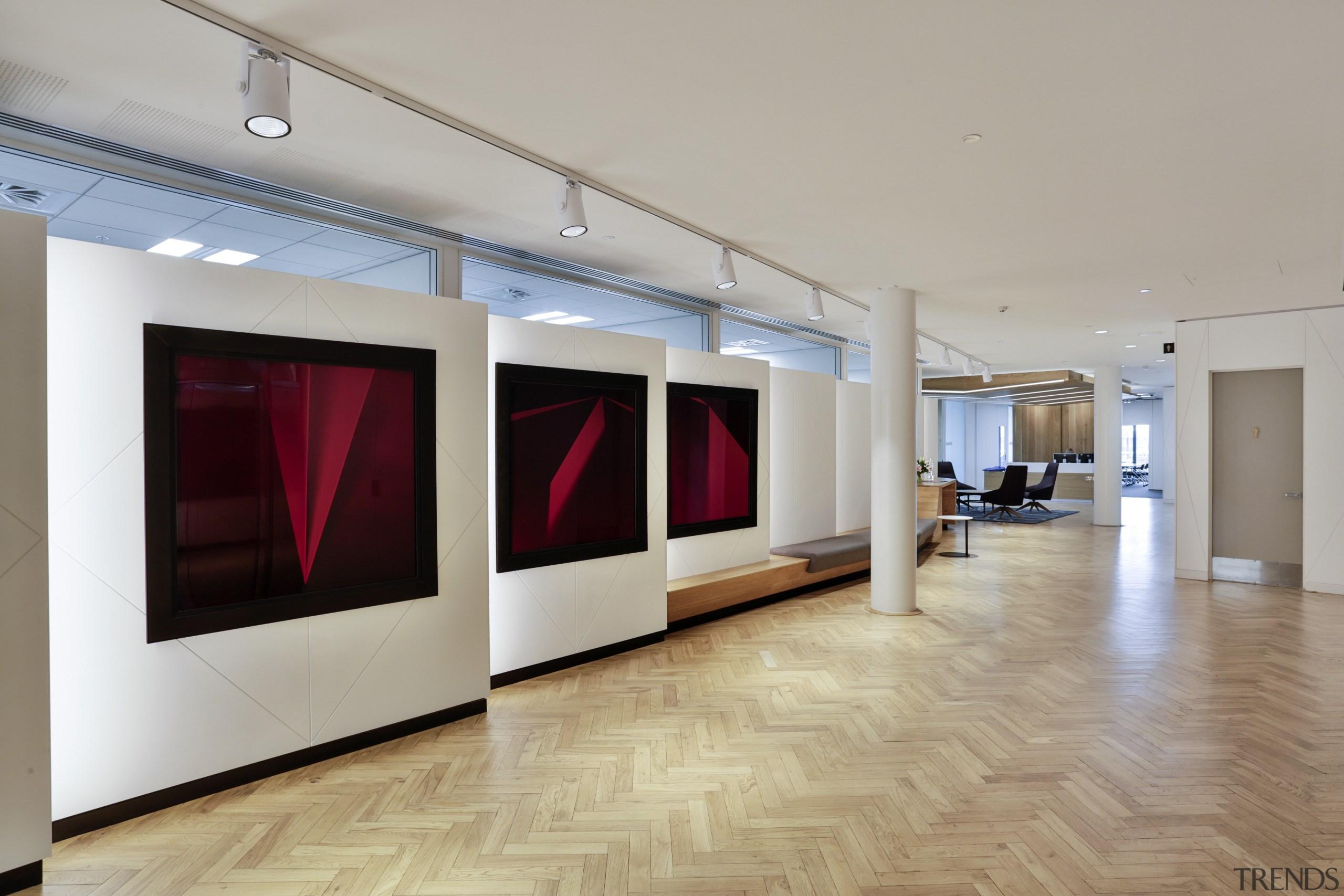 Art for organisations sake  visitors to the ceiling, exhibition, floor, flooring, interior design, lobby, tourist attraction, wood flooring, gray