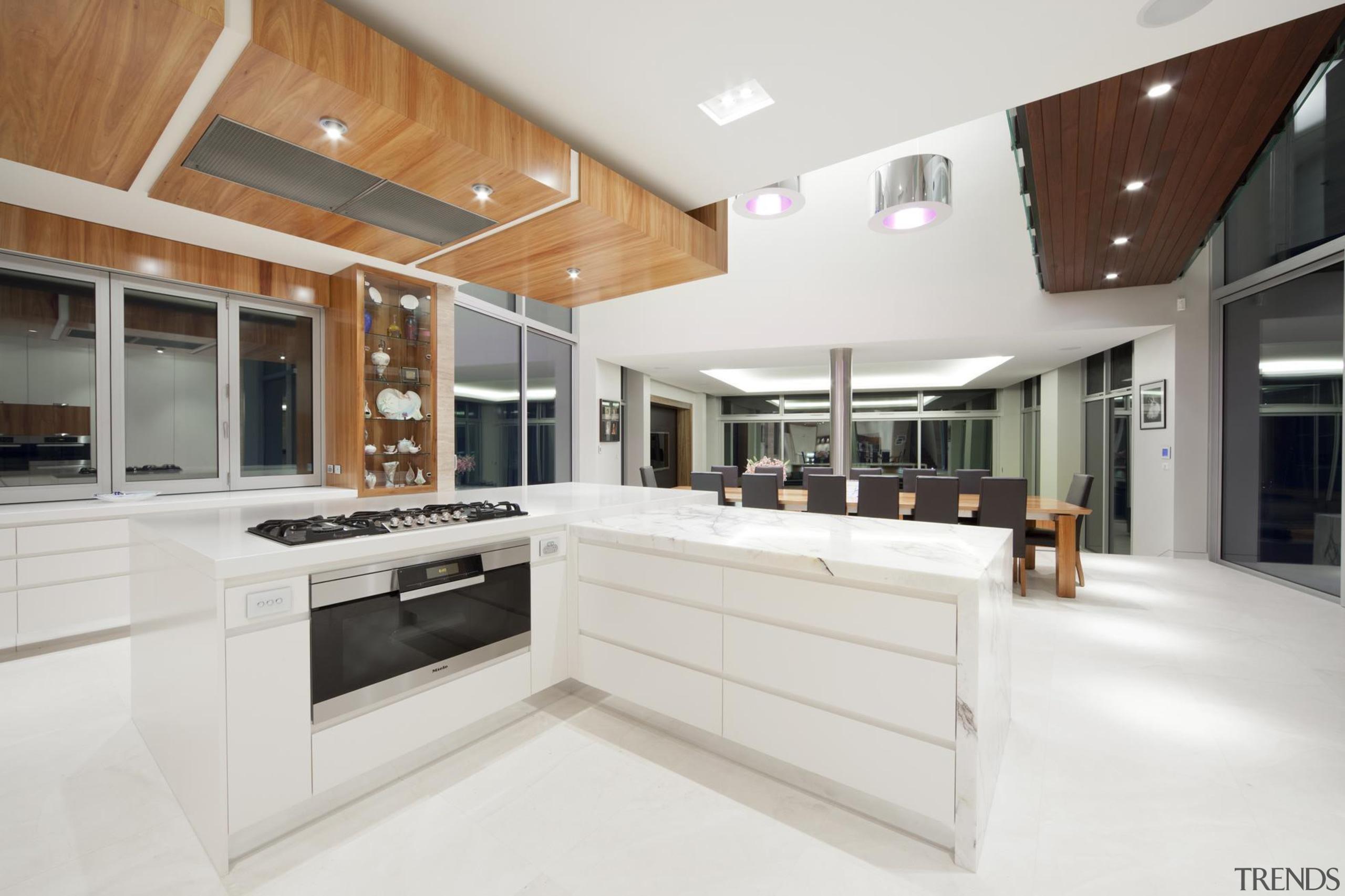Winner Kitchen of Year ACT Sthn NSW 2013 countertop, interior design, kitchen, real estate, white