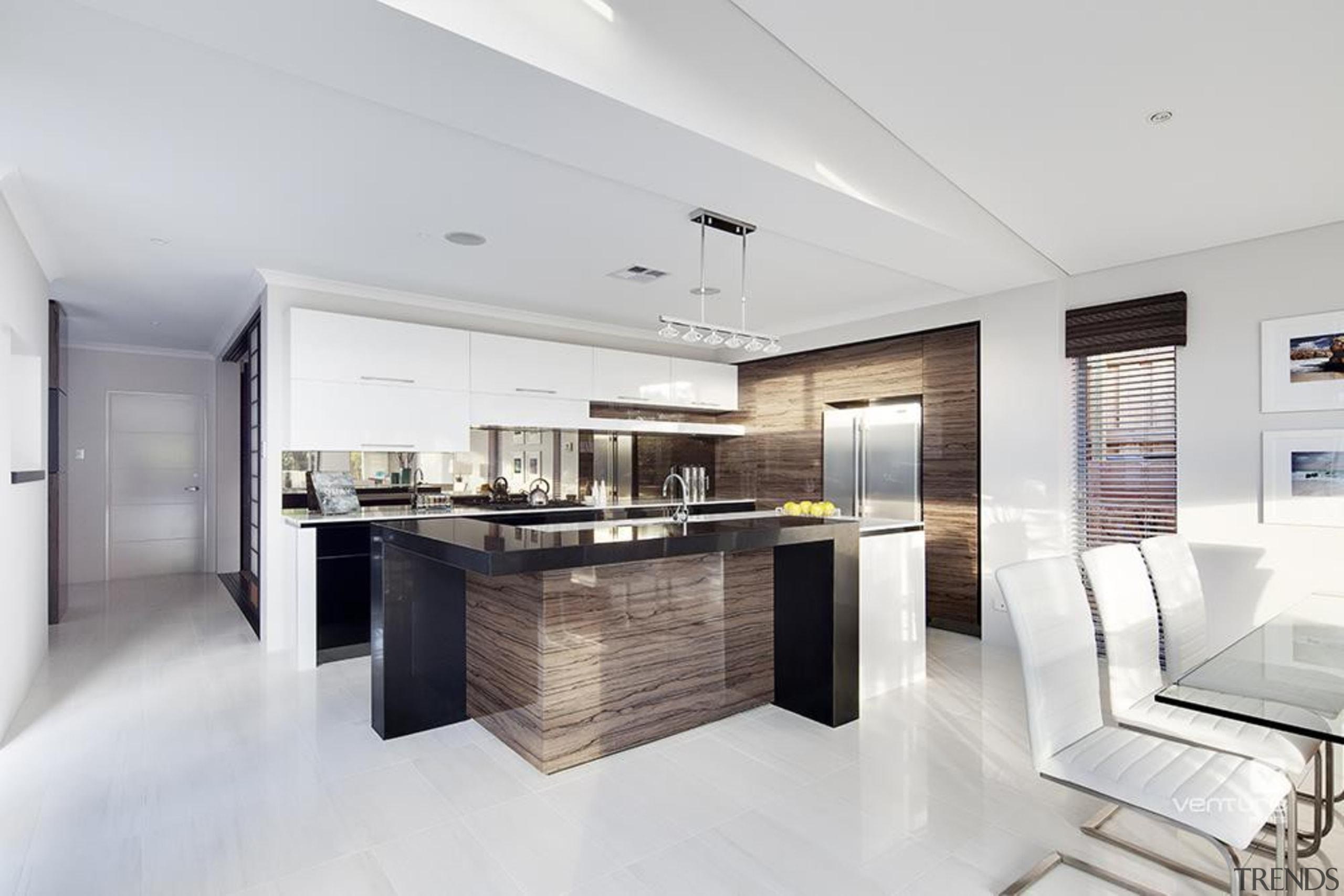 Kitchen design. - The Haven Display Home - interior design, kitchen, real estate, white