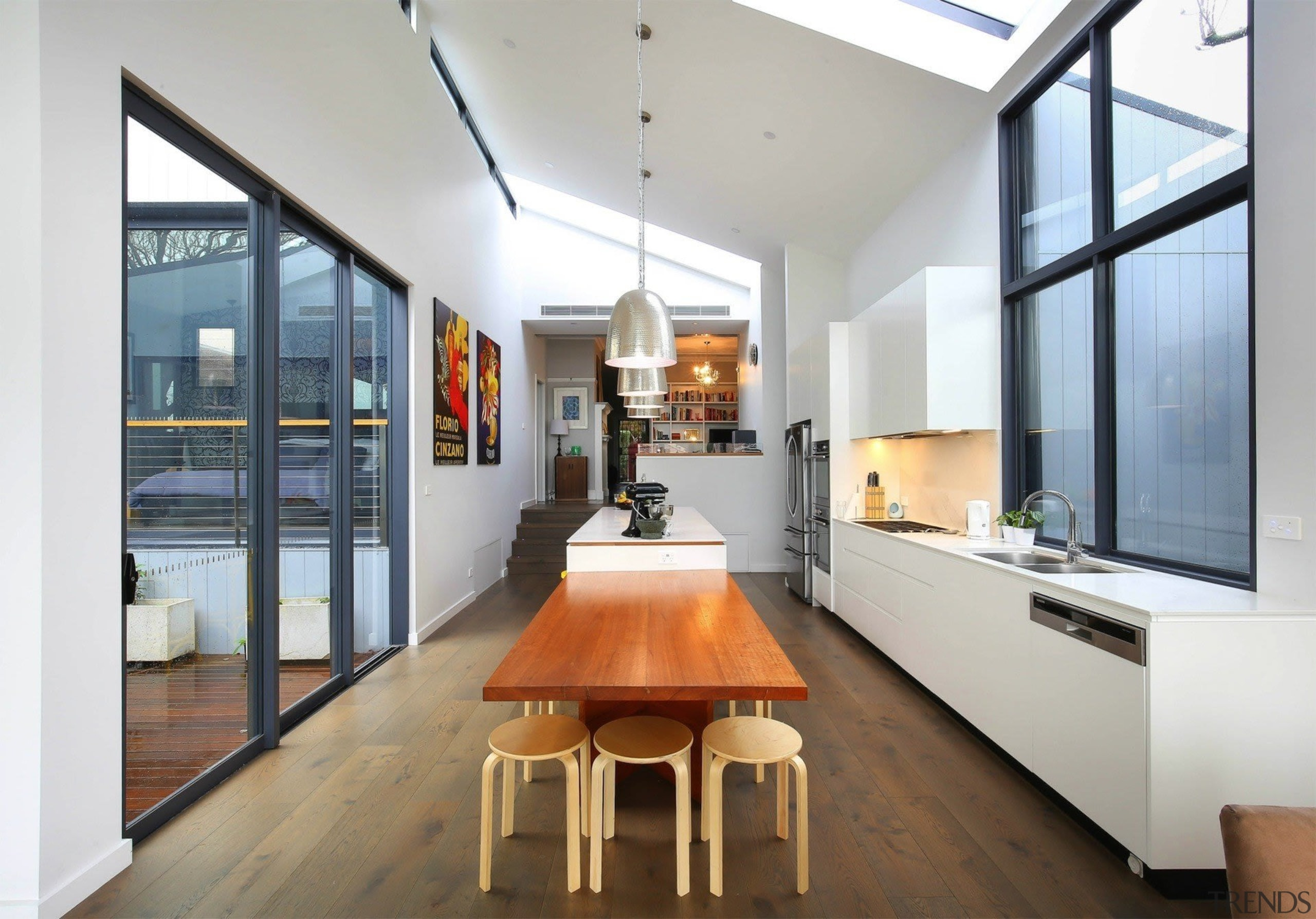 Highly Commended – Ns Studio - architecture   architecture, ceiling, house, interior design, loft, gray