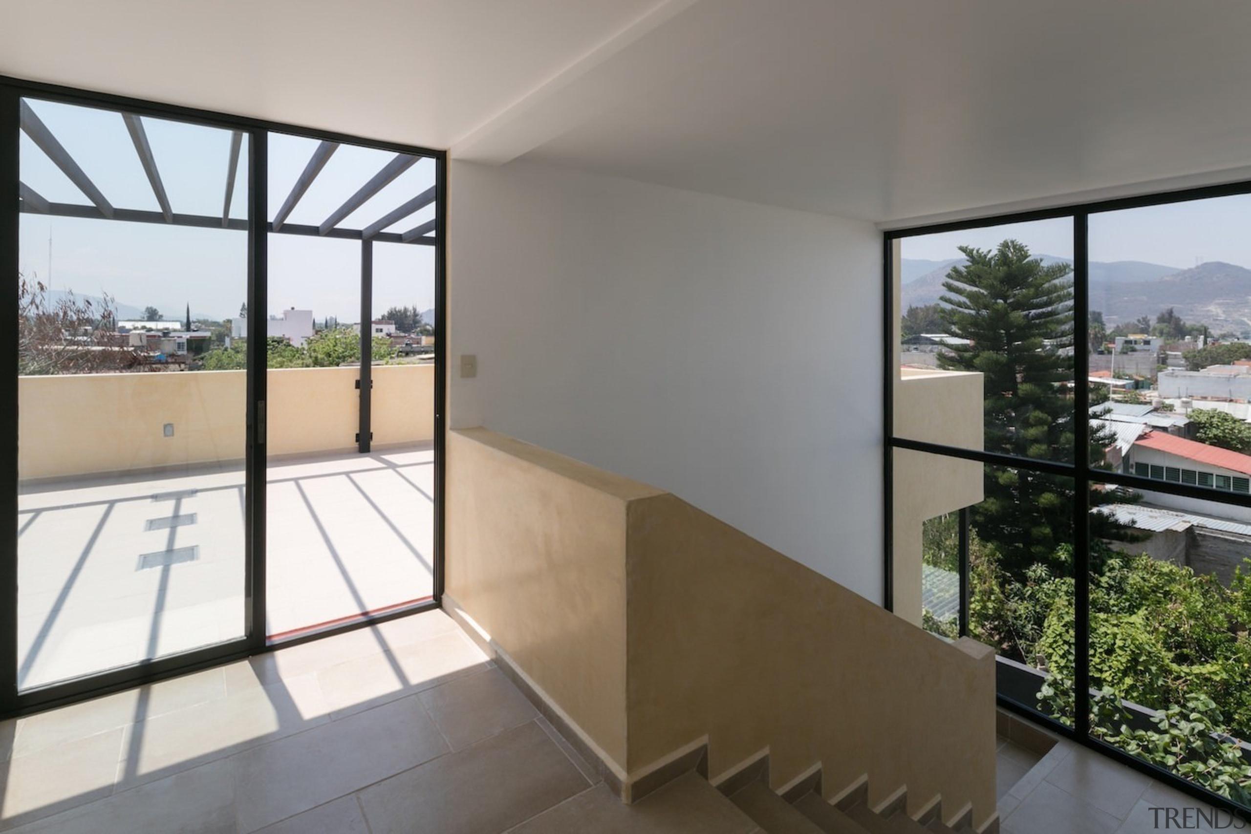 Architect: Espacio 18 ArquitecturaPhotography by Lorena Darquea apartment, architecture, balcony, condominium, daylighting, estate, handrail, house, interior design, property, real estate, window, gray, white