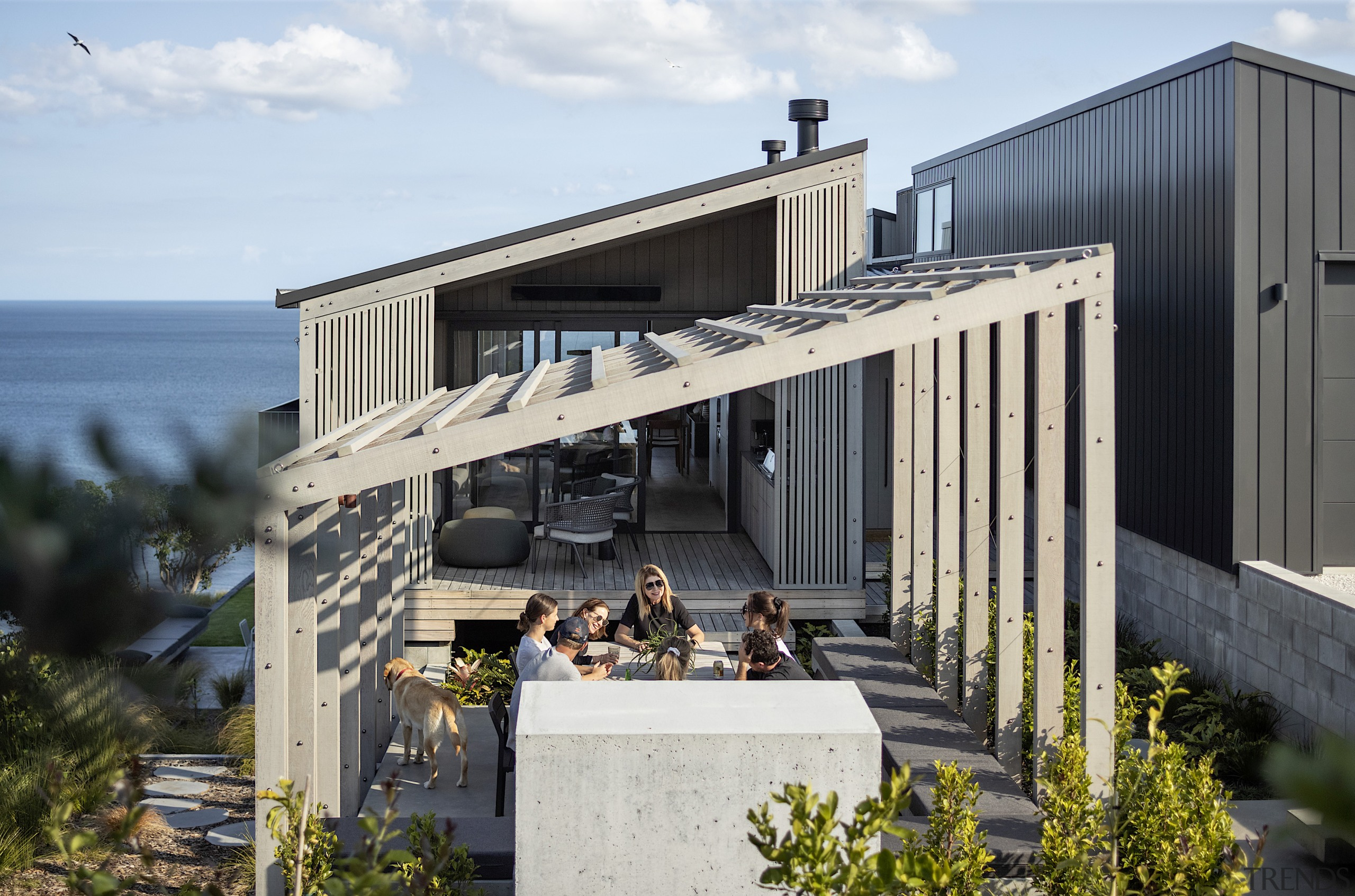 Spaces in this family holiday home needed to