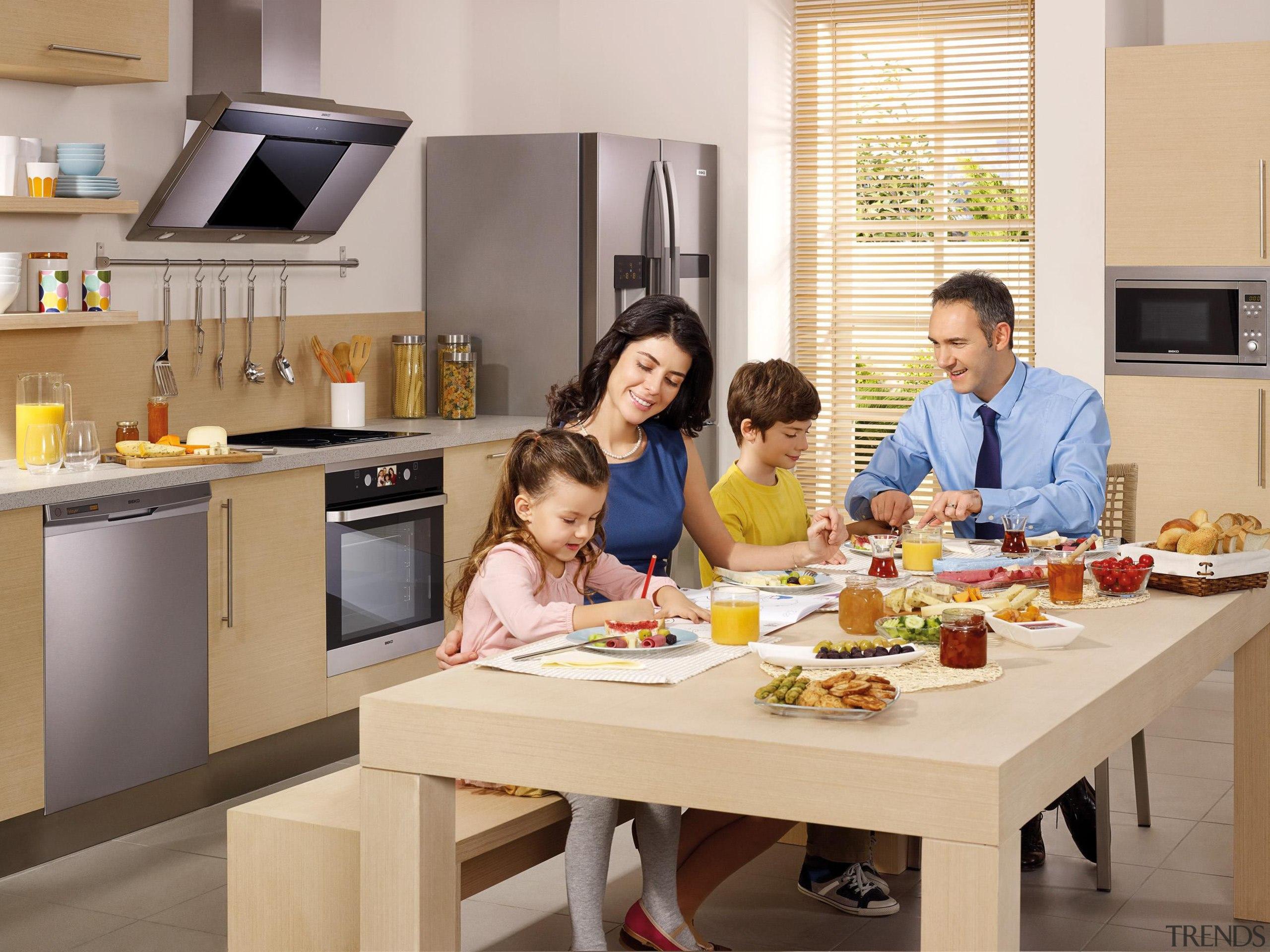 Product Images - Kitchens - cuisine   food cuisine, food, furniture, interior design, kitchen, meal, room, table, gray, orange