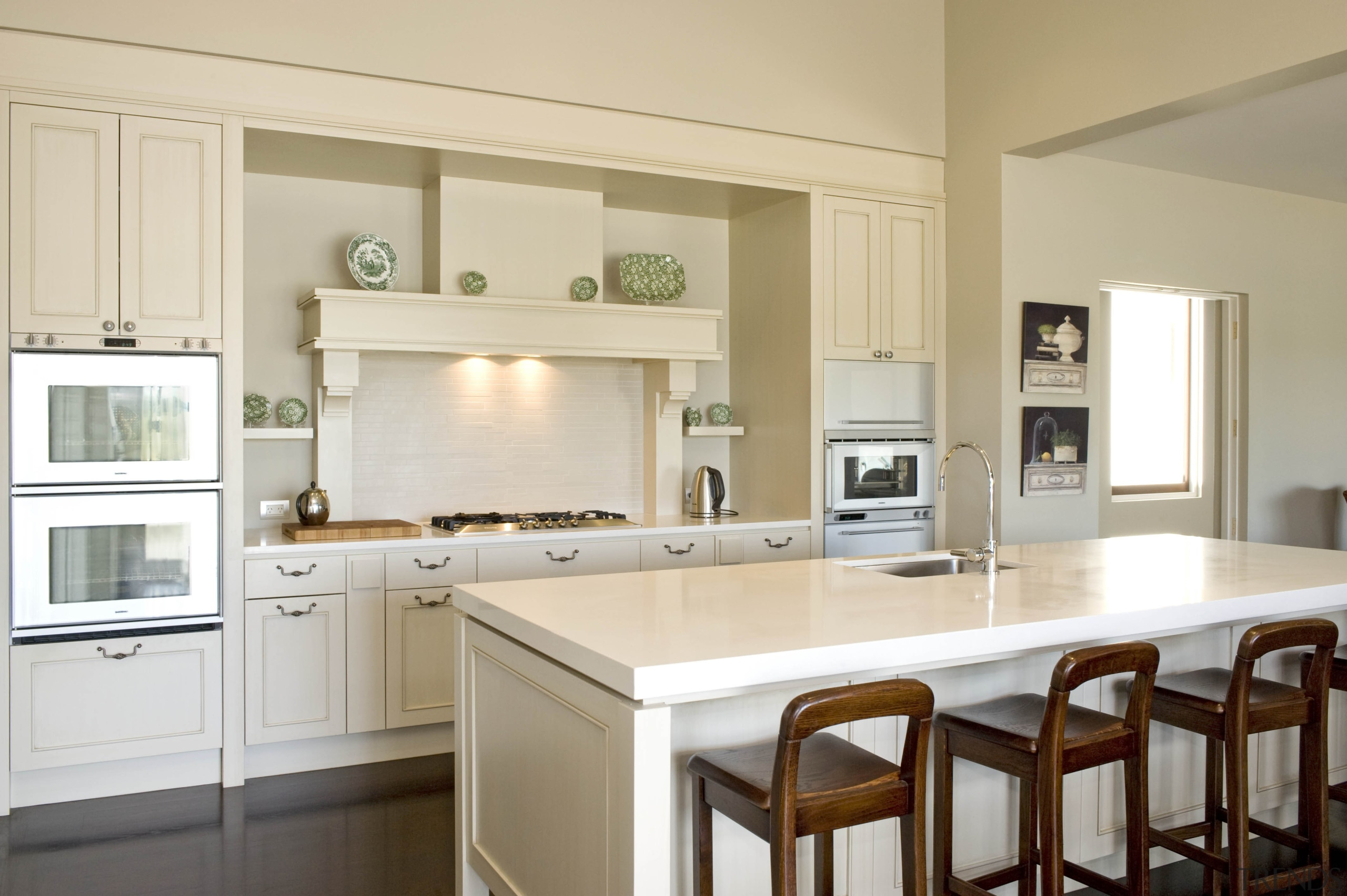 Karaka - cabinetry   countertop   cuisine classique cabinetry, countertop, cuisine classique, home, interior design, kitchen, real estate, room, gray